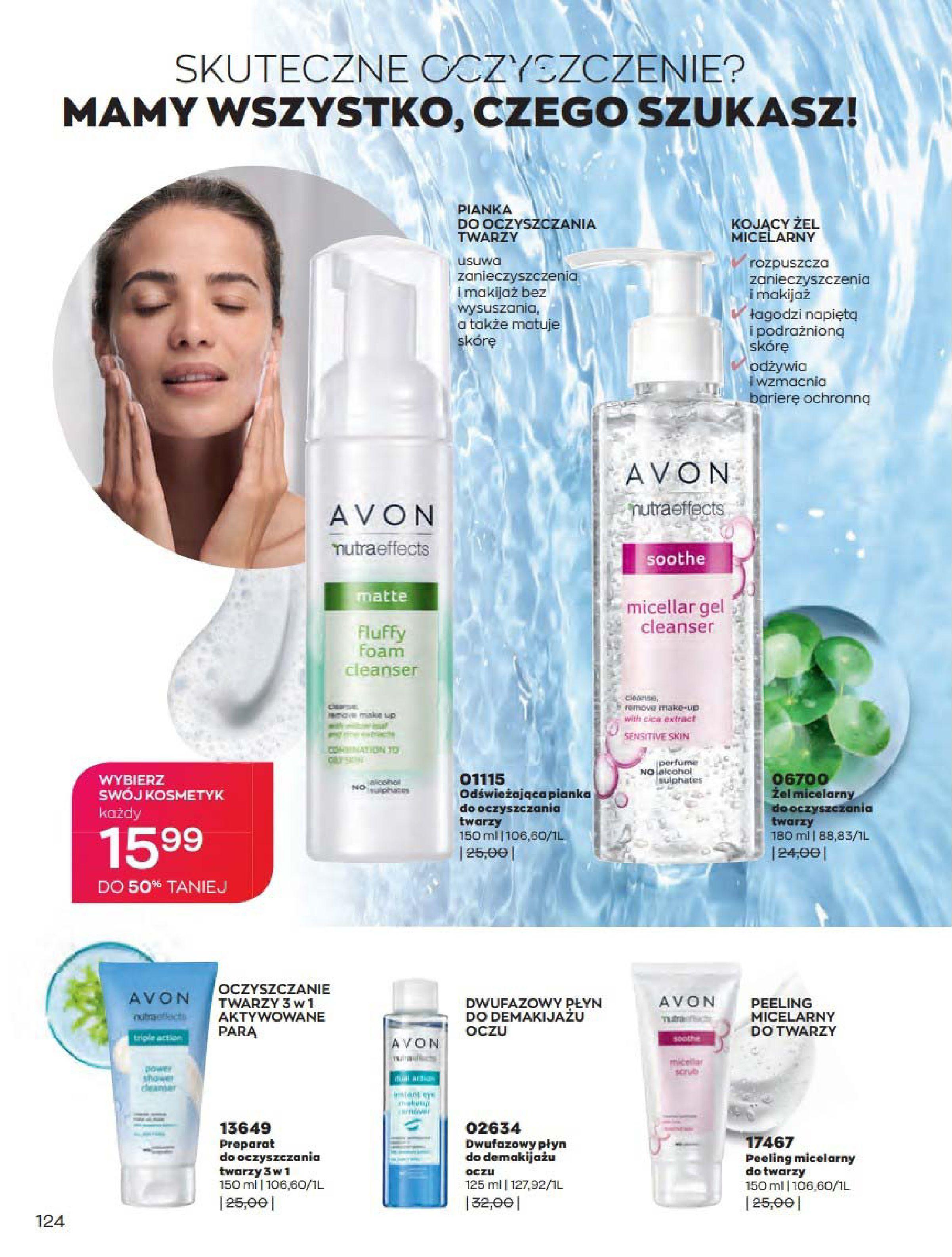Gazetka Avon: Katalog Kwiecień 2021 2021-04-01 page-124