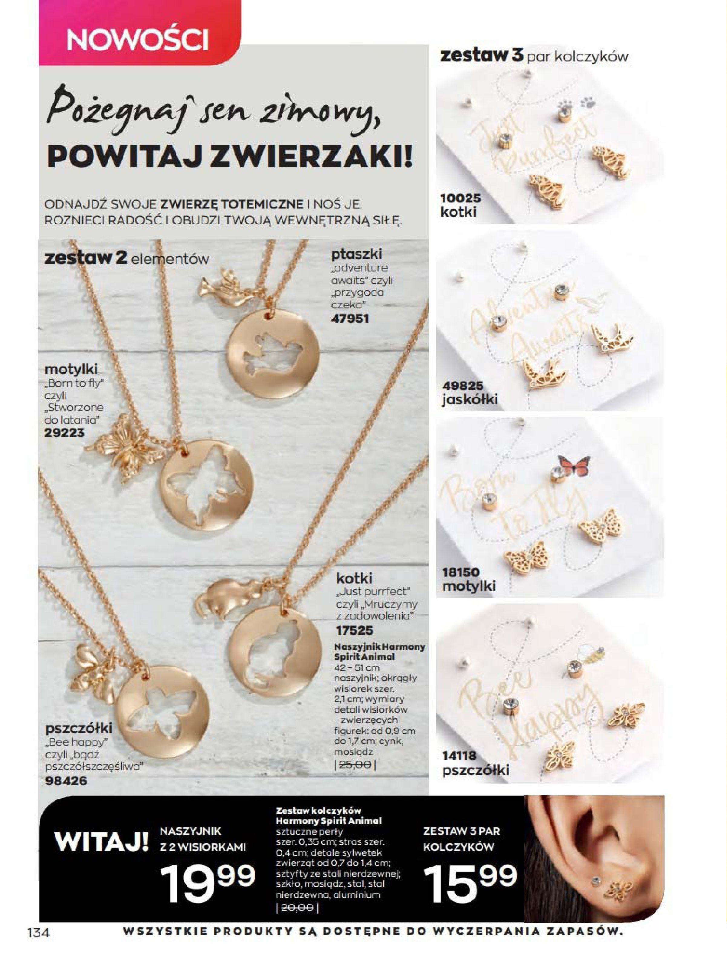 Gazetka Avon: Katalog Kwiecień 2021 2021-04-01 page-134
