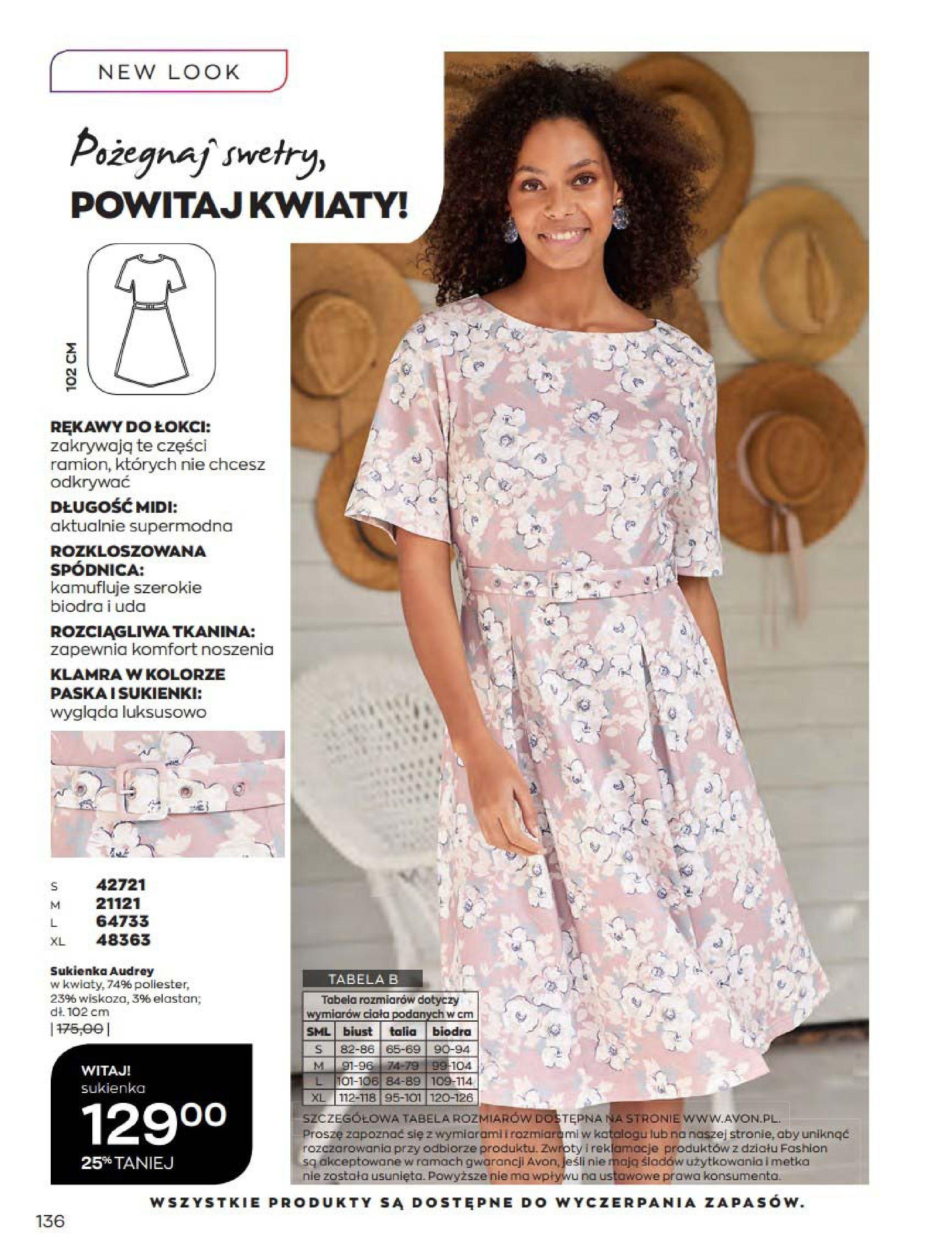Gazetka Avon: Katalog Kwiecień 2021 2021-04-01 page-136