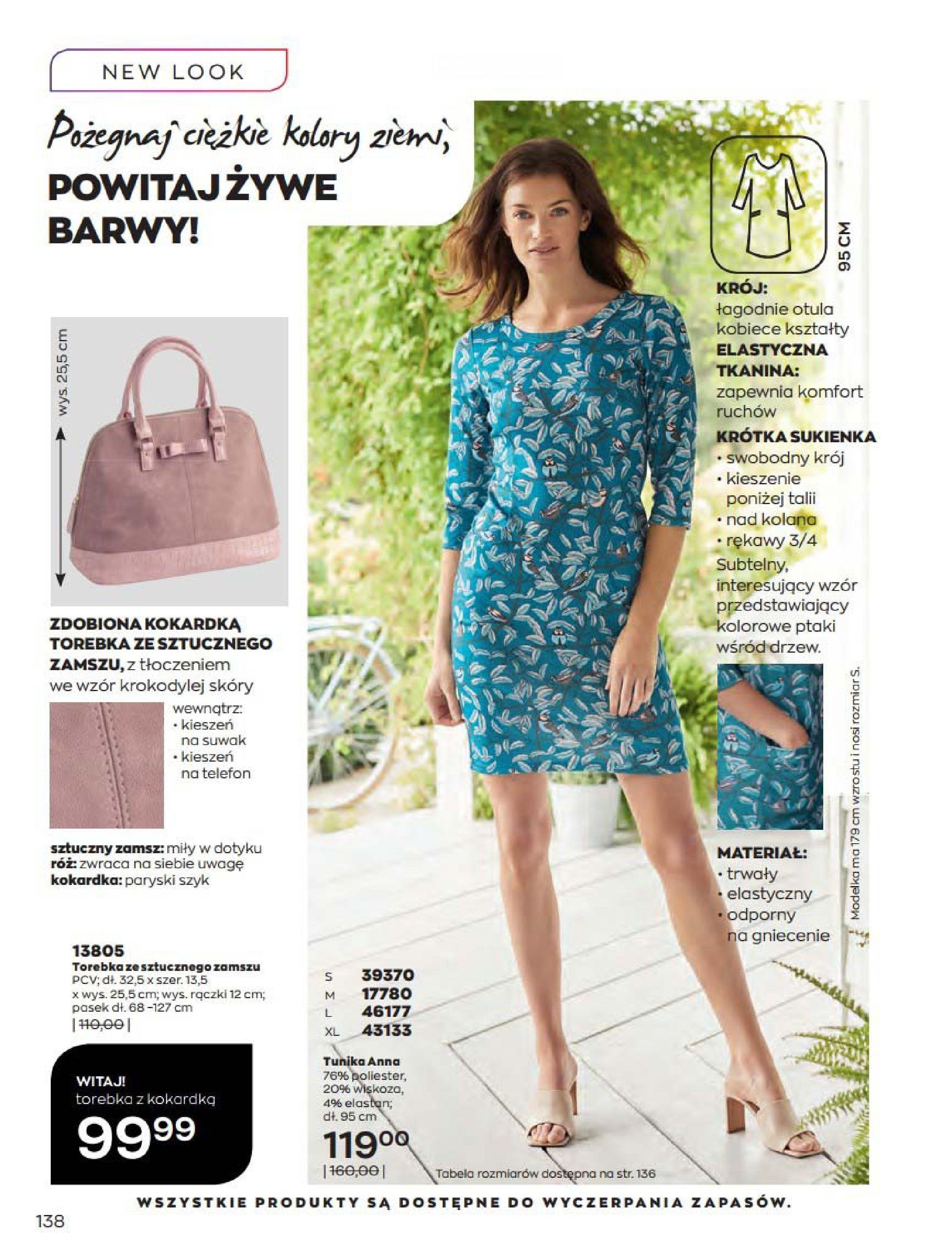 Gazetka Avon: Katalog Kwiecień 2021 2021-04-01 page-138