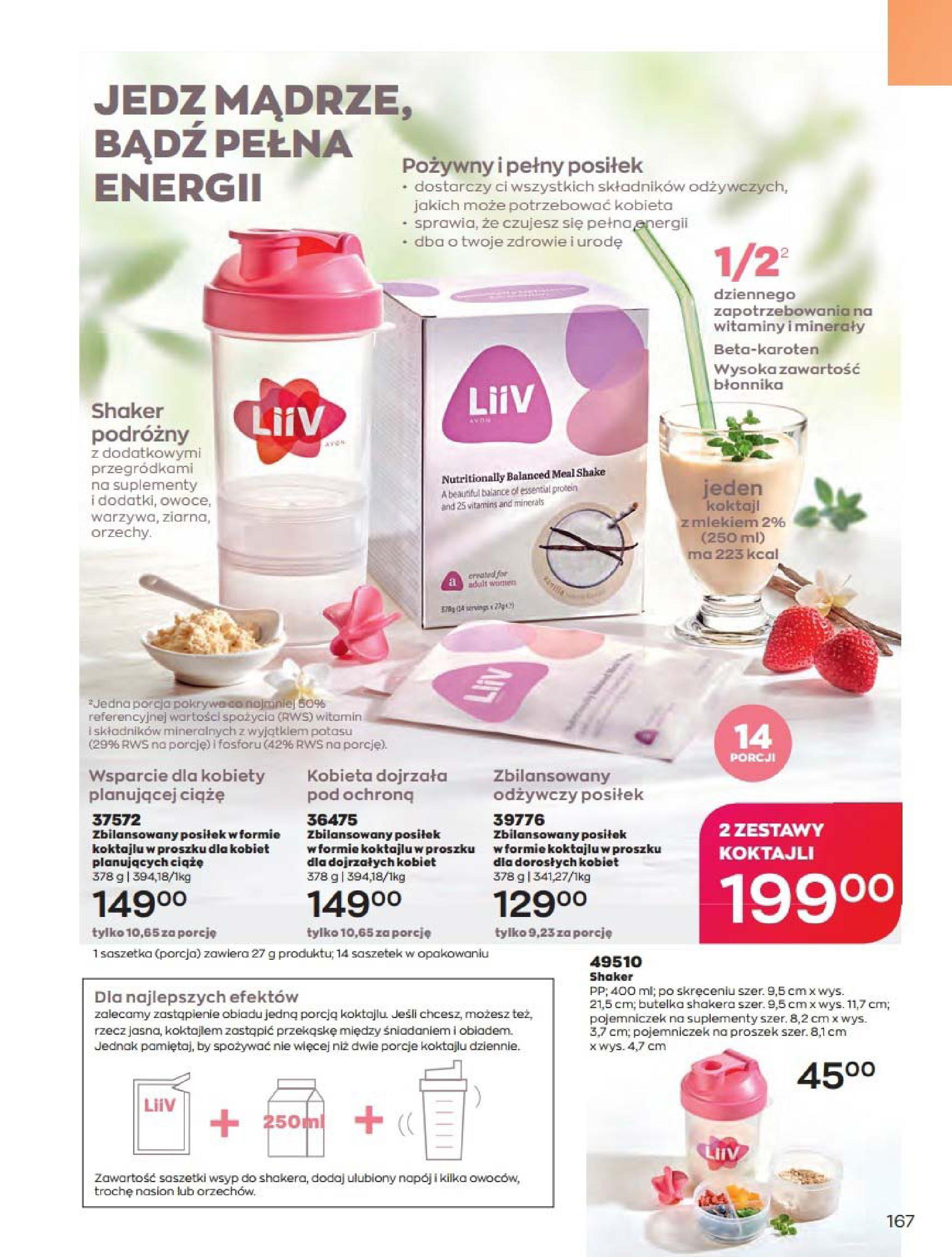 Gazetka Avon: Katalog Kwiecień 2021 2021-04-01 page-167