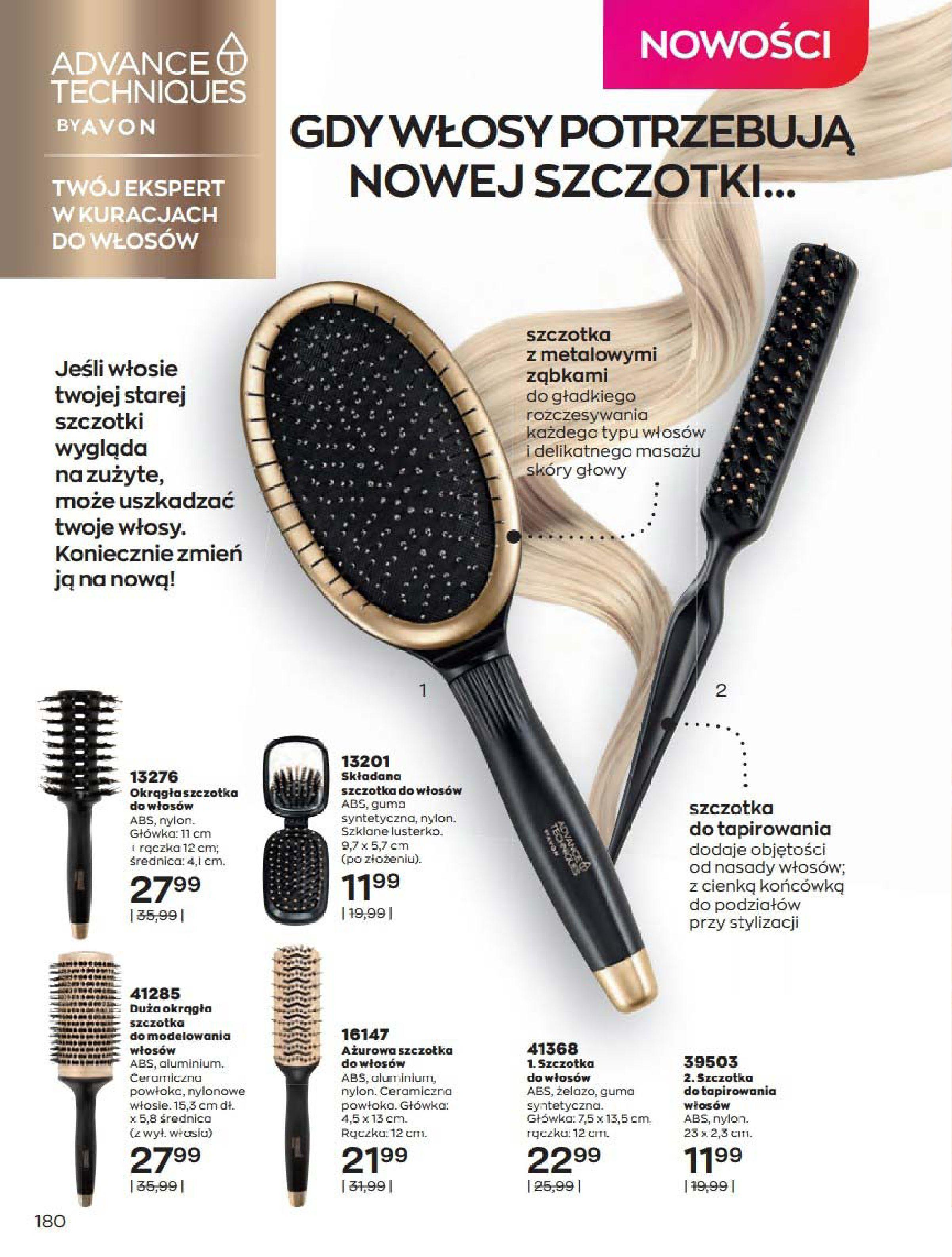 Gazetka Avon: Katalog Kwiecień 2021 2021-04-01 page-180