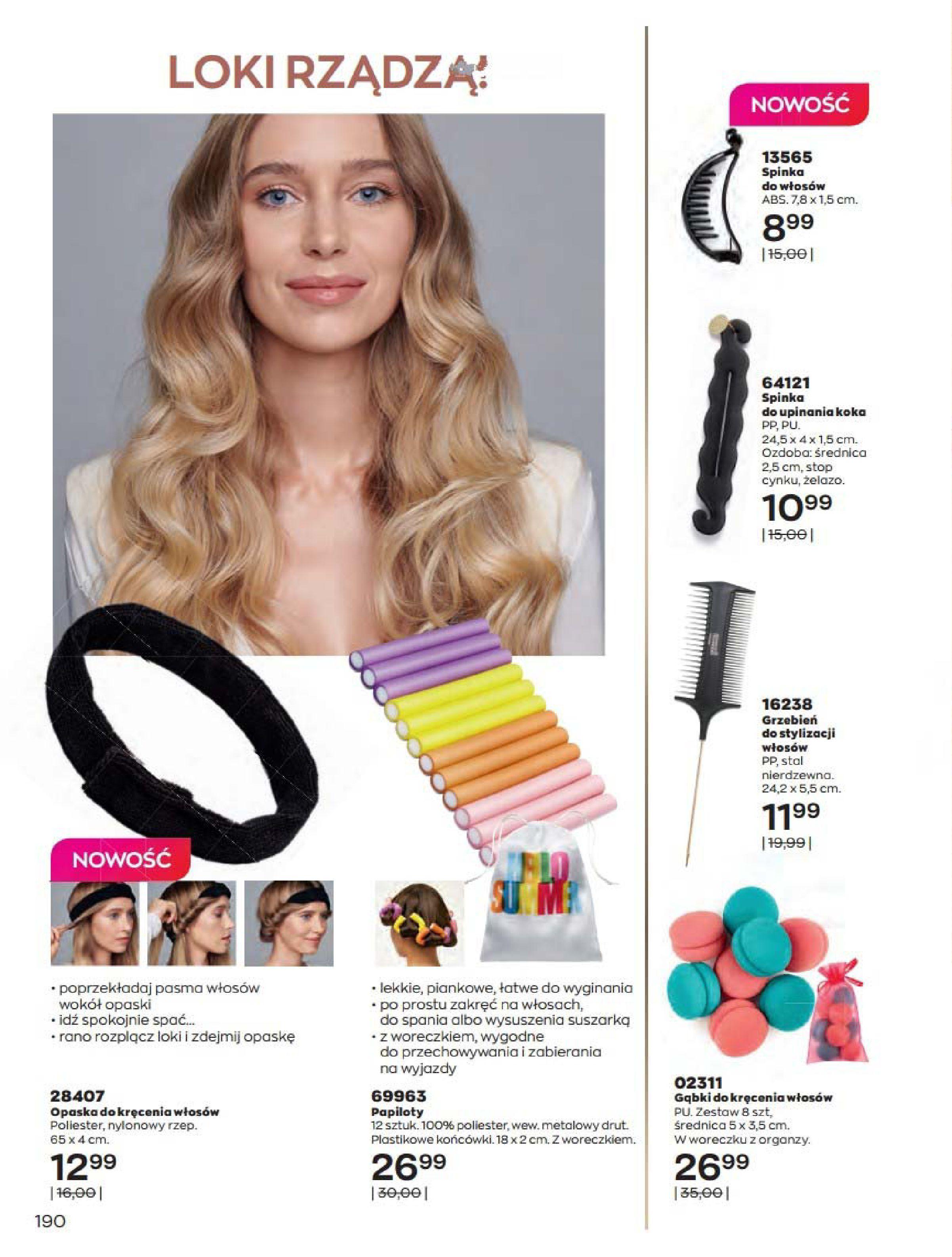 Gazetka Avon: Katalog Kwiecień 2021 2021-04-01 page-190