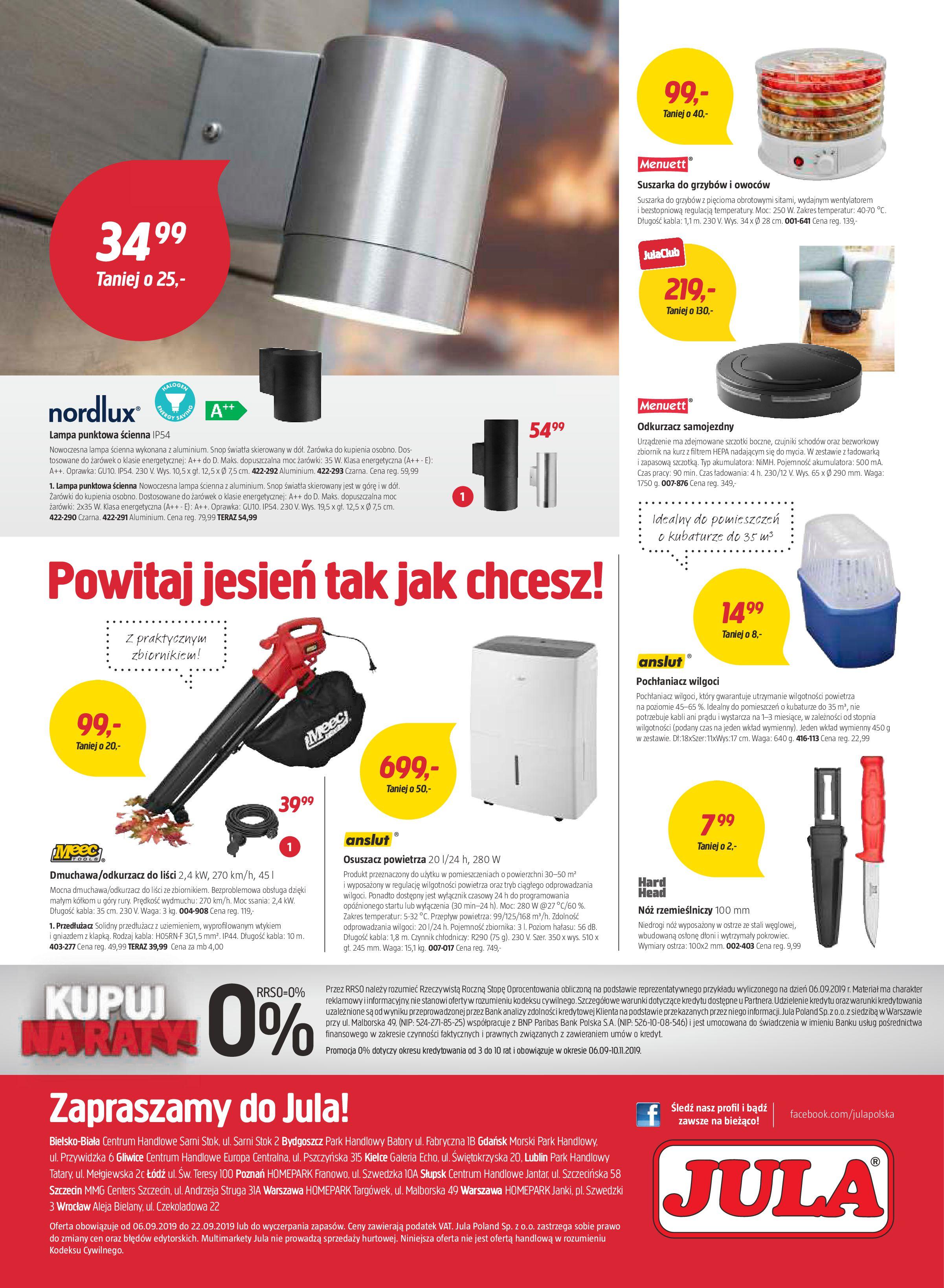 Gazetka Jula - Idzie jesień-05.09.2019-29.09.2019-page-