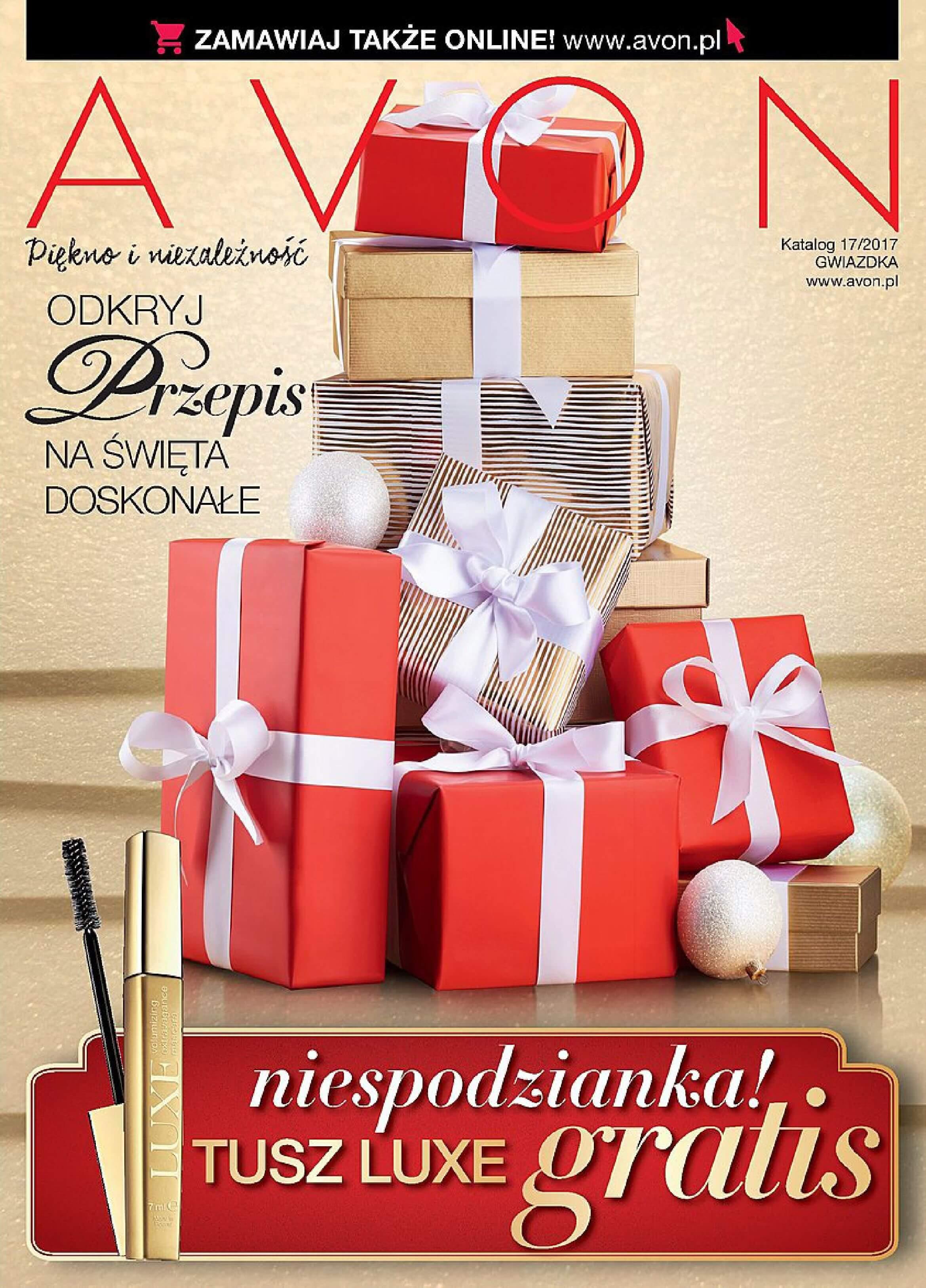 Gazetka Avon - Katalog 17/2017 Gwiazdka-29.11.2017-27.12.2017-page-1