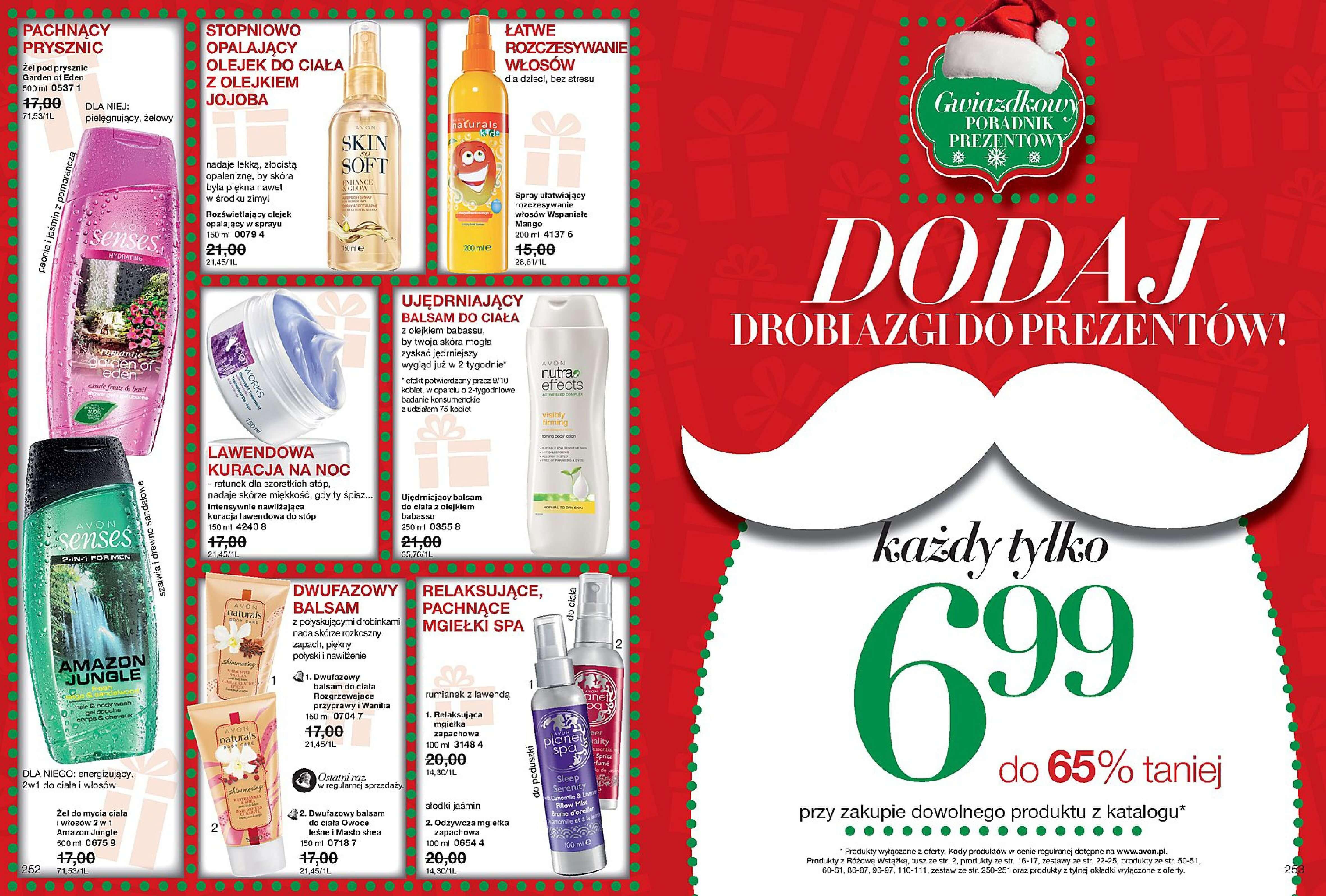 Gazetka Avon - Katalog 17/2017 Gwiazdka-29.11.2017-27.12.2017-page-127