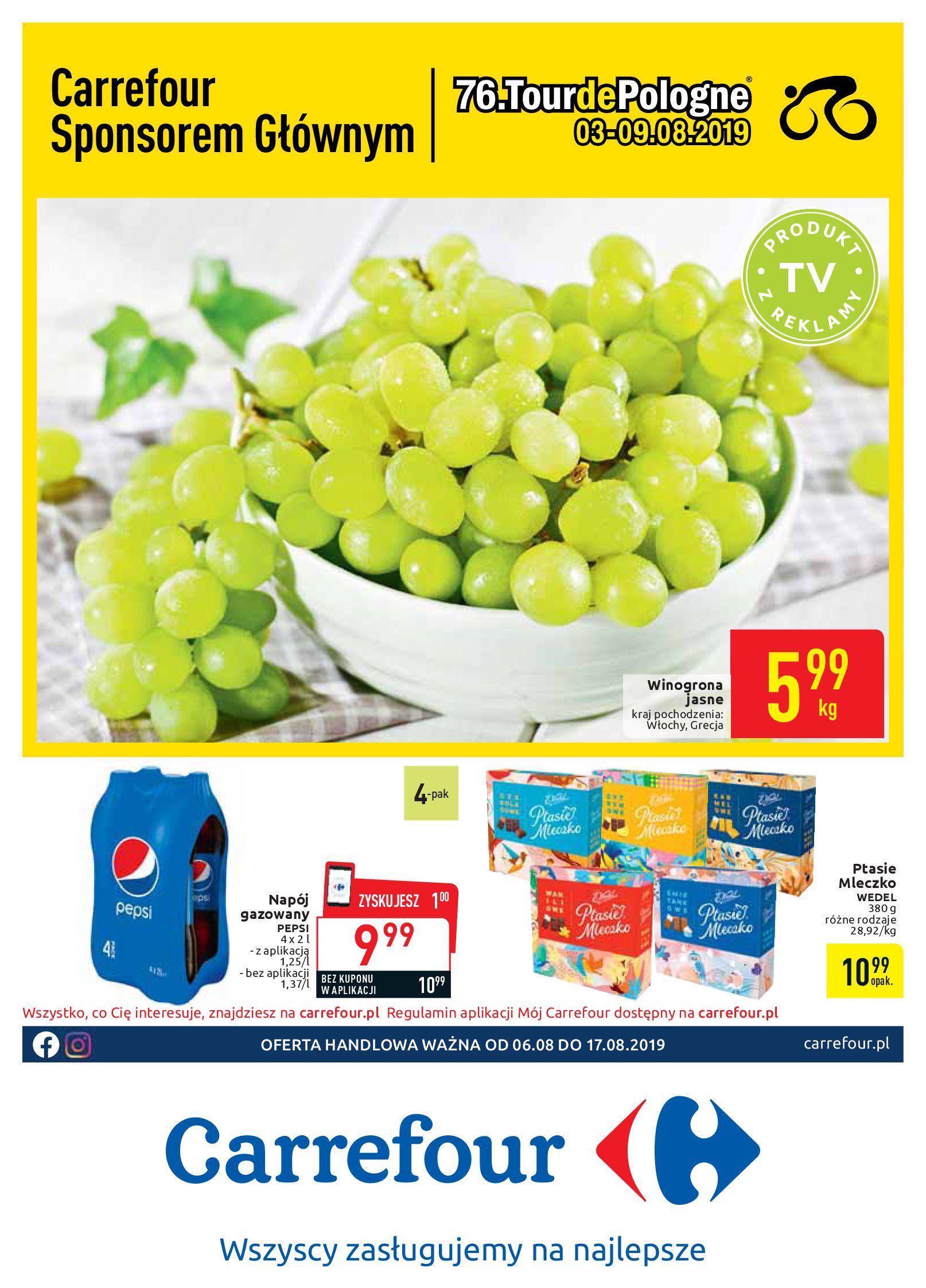 Gazetka Carrefour - Oferta handlowa-05.08.2019-17.08.2019-page-1
