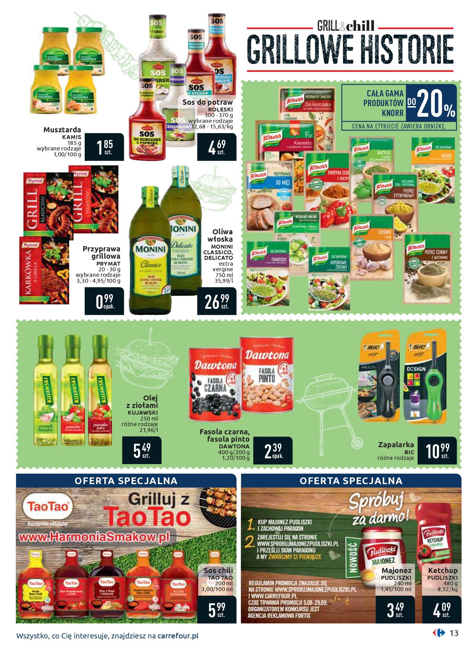 Gazetka Carrefour - Oferta handlowa-05.08.2019-17.08.2019-page-13
