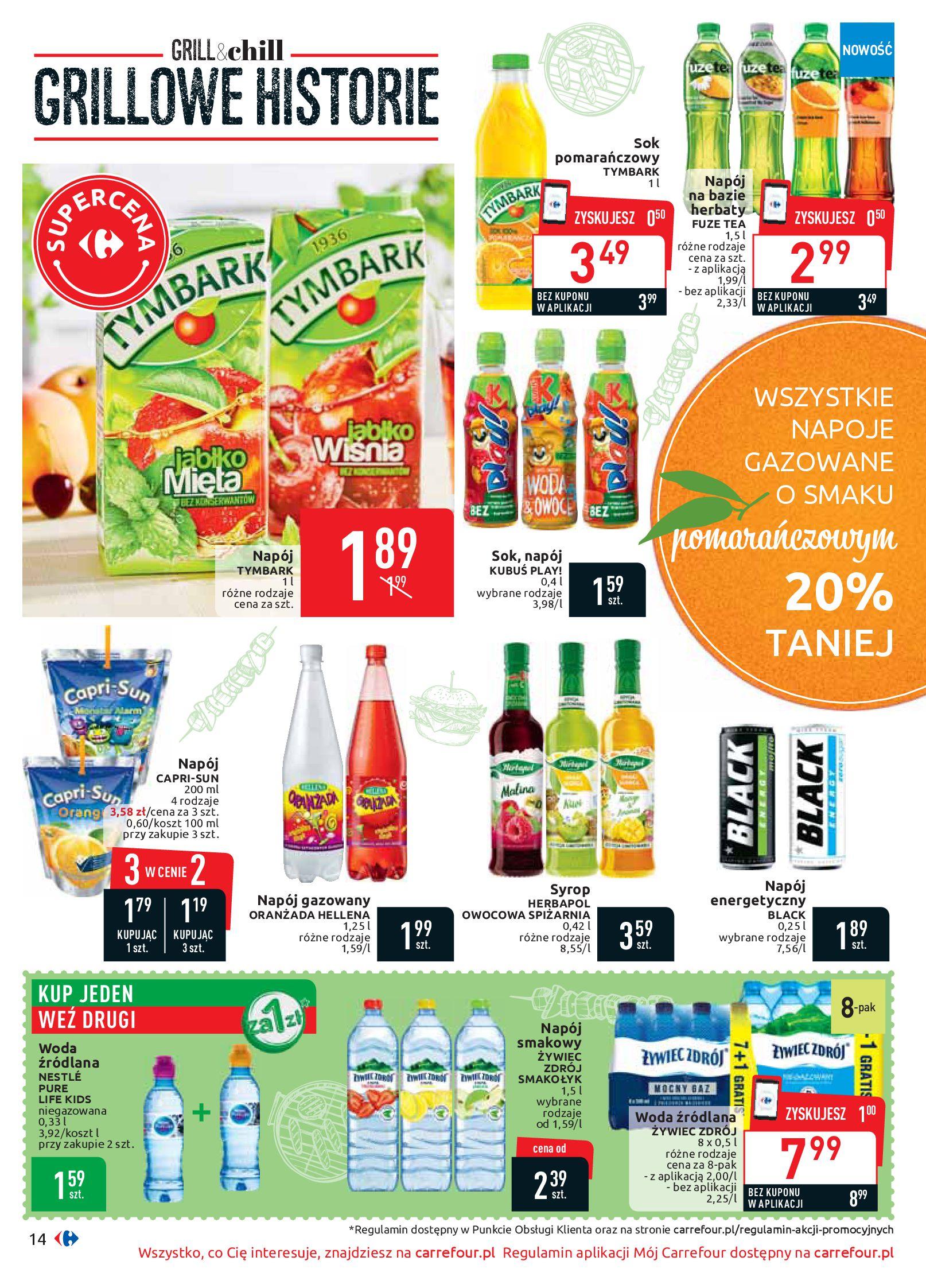 Gazetka Carrefour - Oferta handlowa-05.08.2019-17.08.2019-page-14