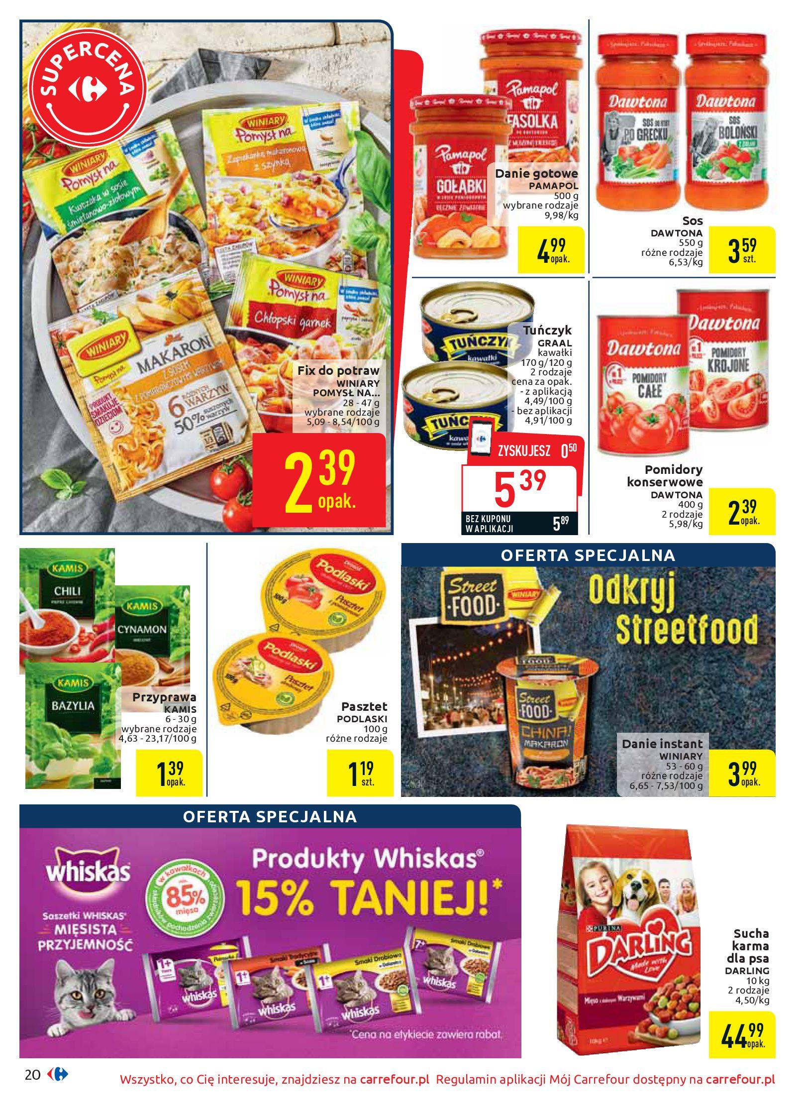 Gazetka Carrefour - Oferta handlowa-05.08.2019-17.08.2019-page-20