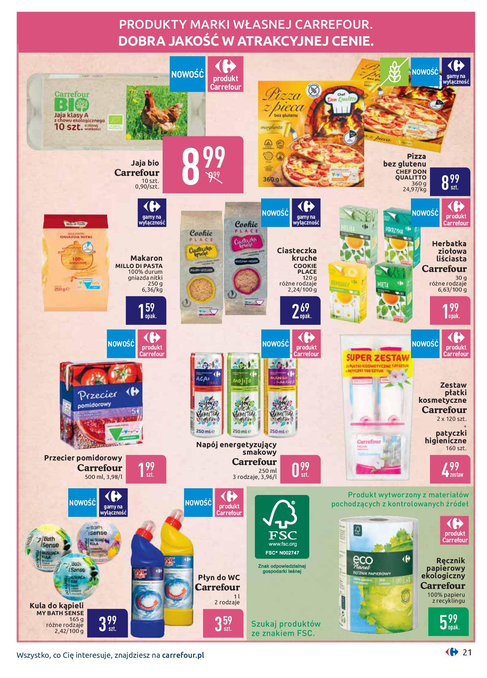 Gazetka Carrefour - Oferta handlowa-05.08.2019-17.08.2019-page-21