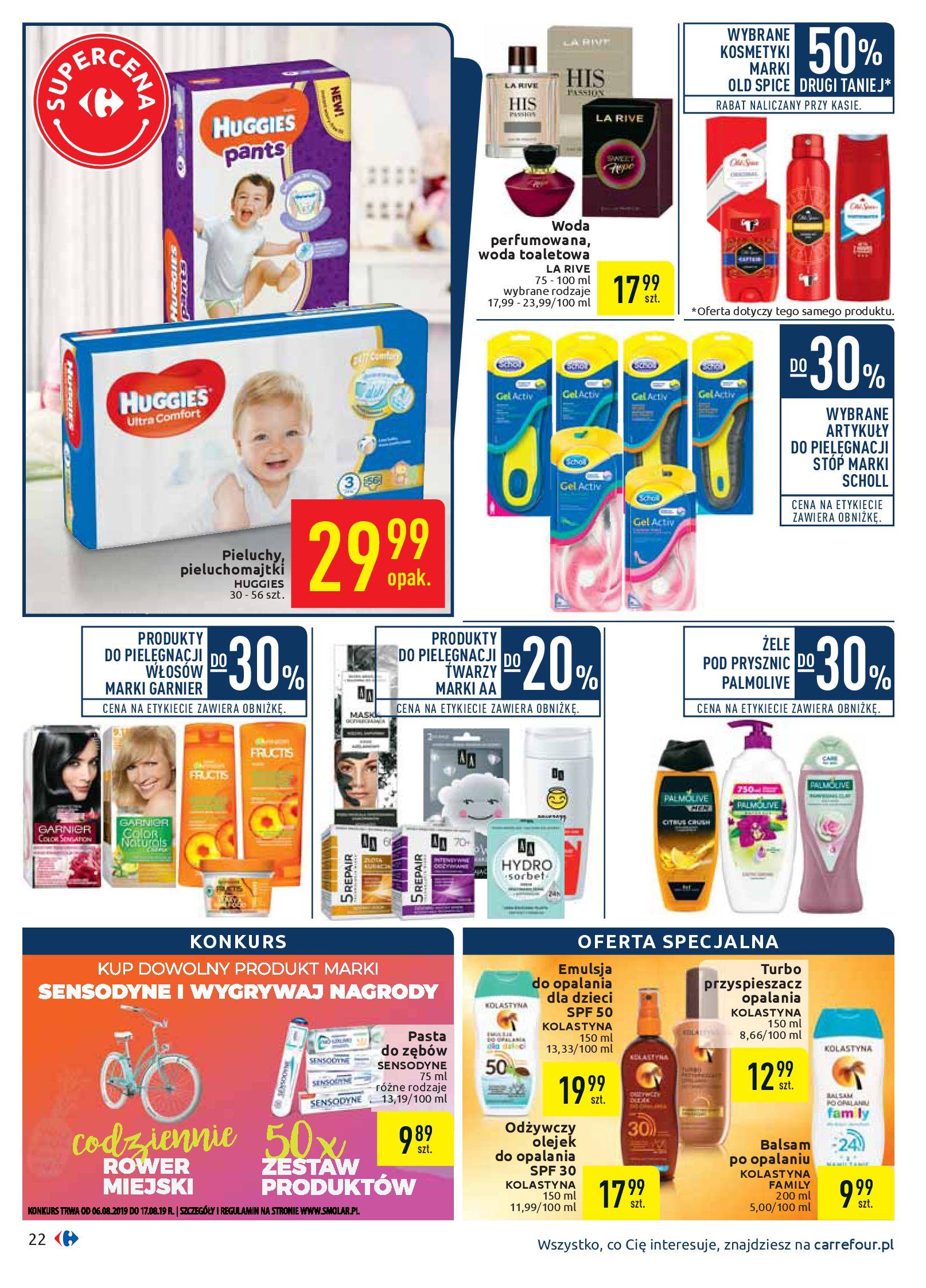 Gazetka Carrefour - Oferta handlowa-05.08.2019-17.08.2019-page-22