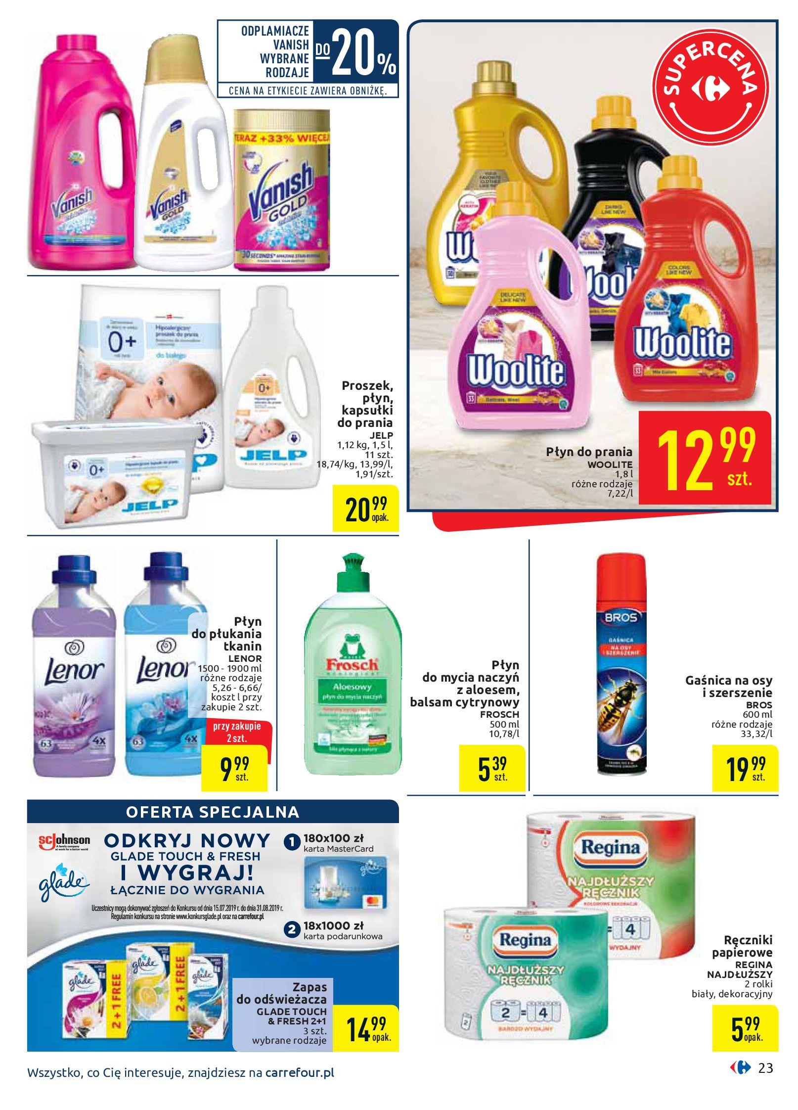 Gazetka Carrefour - Oferta handlowa-05.08.2019-17.08.2019-page-23