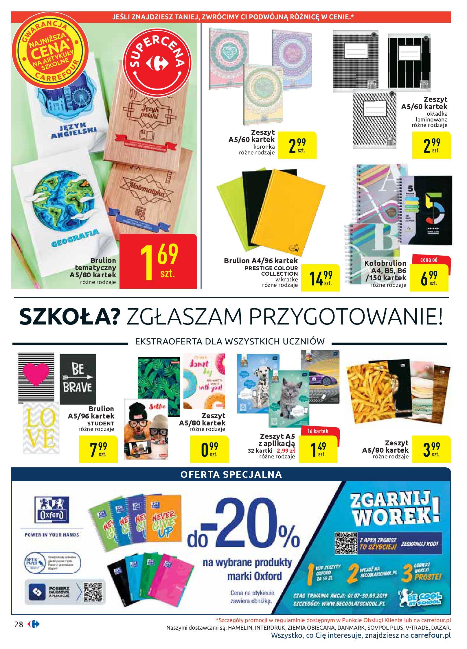 Gazetka Carrefour - Oferta handlowa-05.08.2019-17.08.2019-page-28