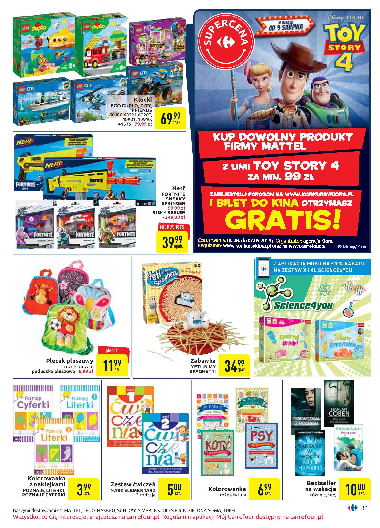 Gazetka Carrefour - Oferta handlowa-05.08.2019-17.08.2019-page-31