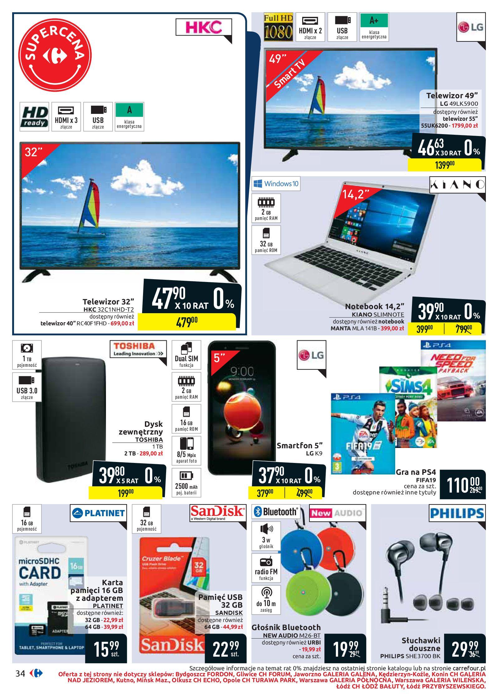 Gazetka Carrefour - Oferta handlowa-05.08.2019-17.08.2019-page-34