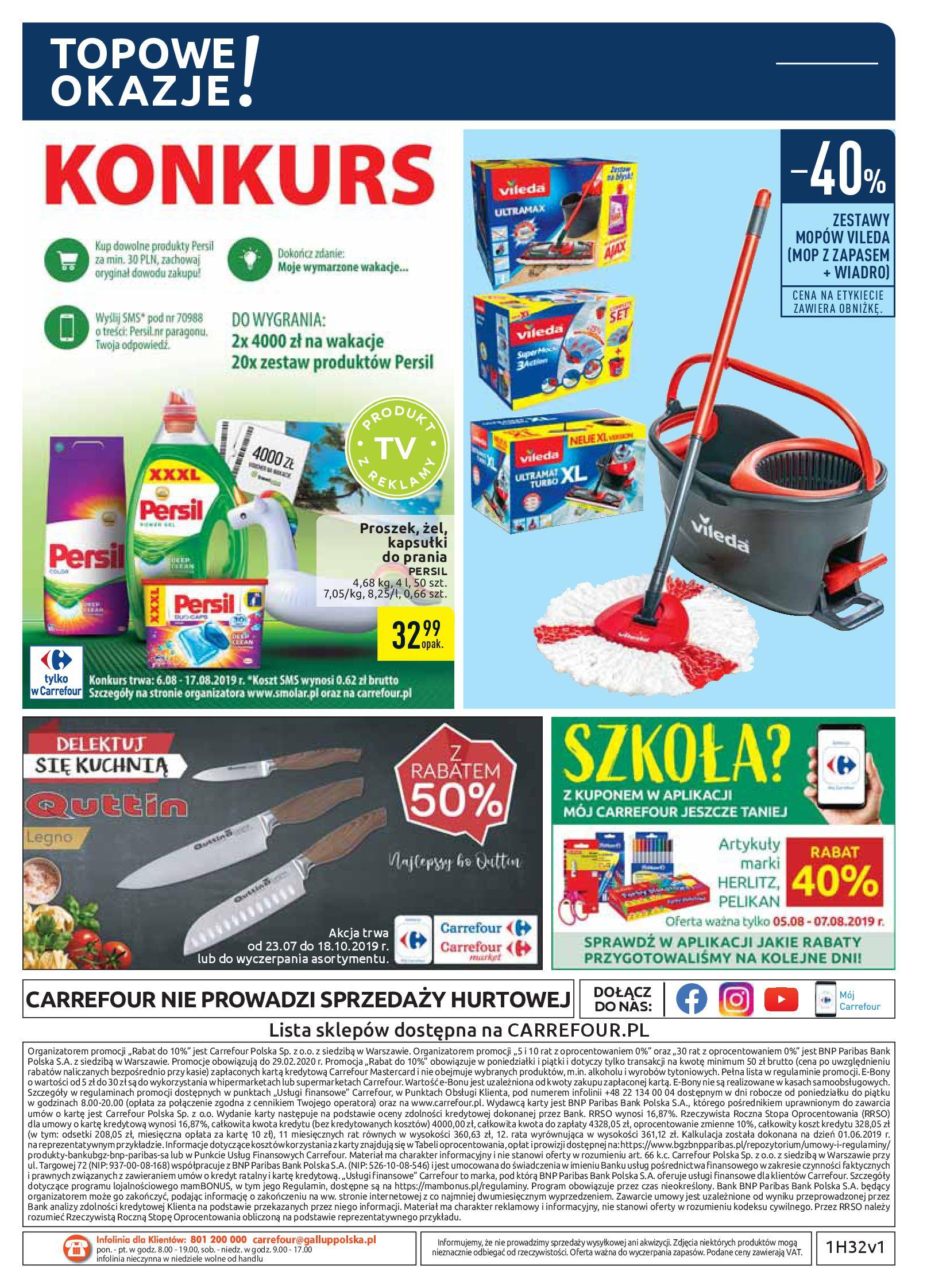 Gazetka Carrefour - Oferta handlowa-05.08.2019-17.08.2019-page-36