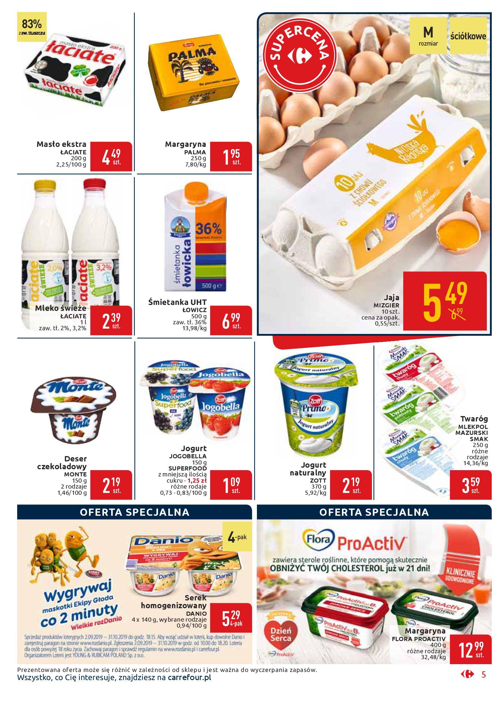 Gazetka Carrefour Market - Wszyscy zasługujemy na najlepsze-16.09.2019-29.09.2019-page-5