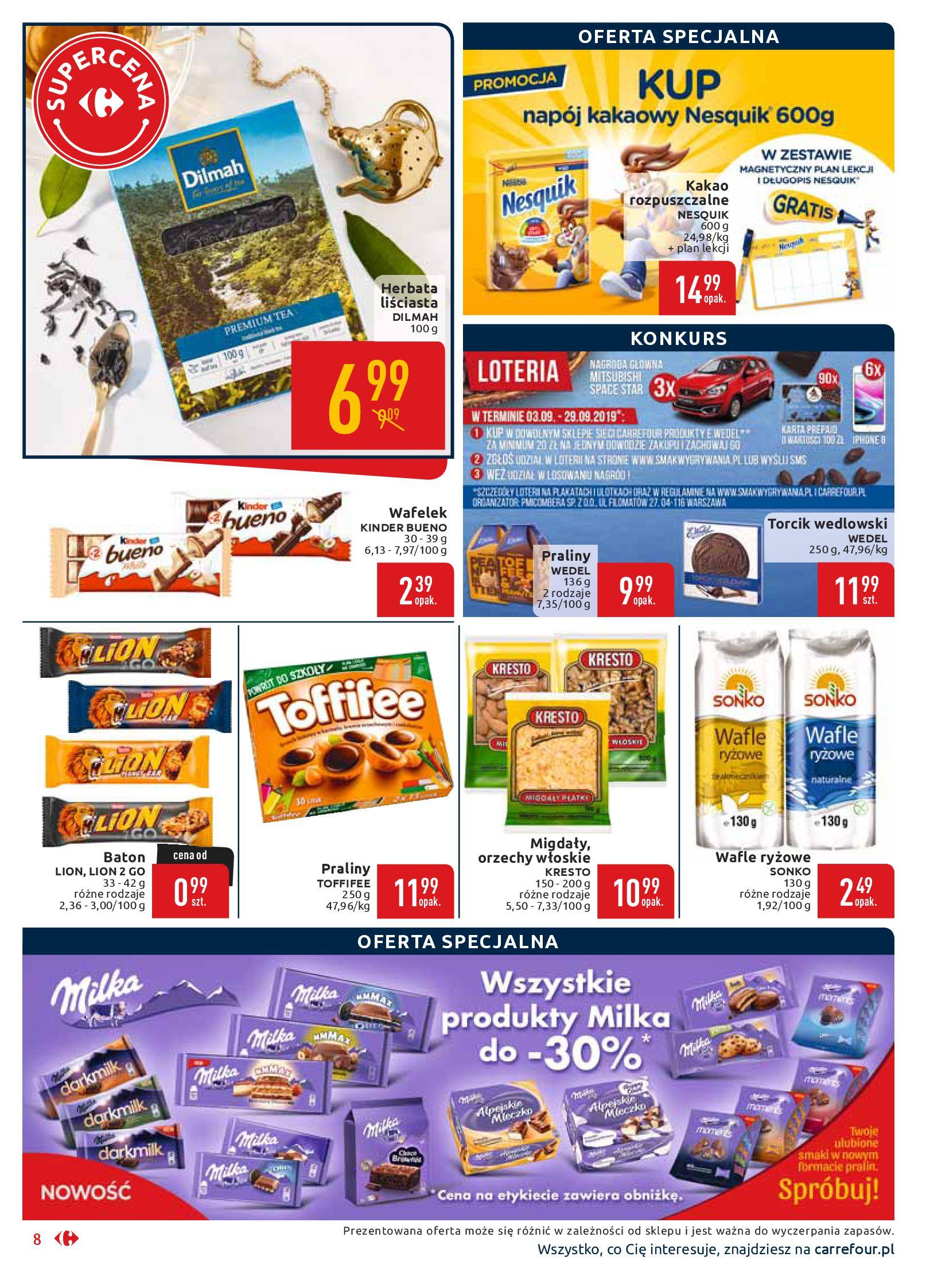 Gazetka Carrefour Market - Wszyscy zasługujemy na najlepsze-16.09.2019-29.09.2019-page-8