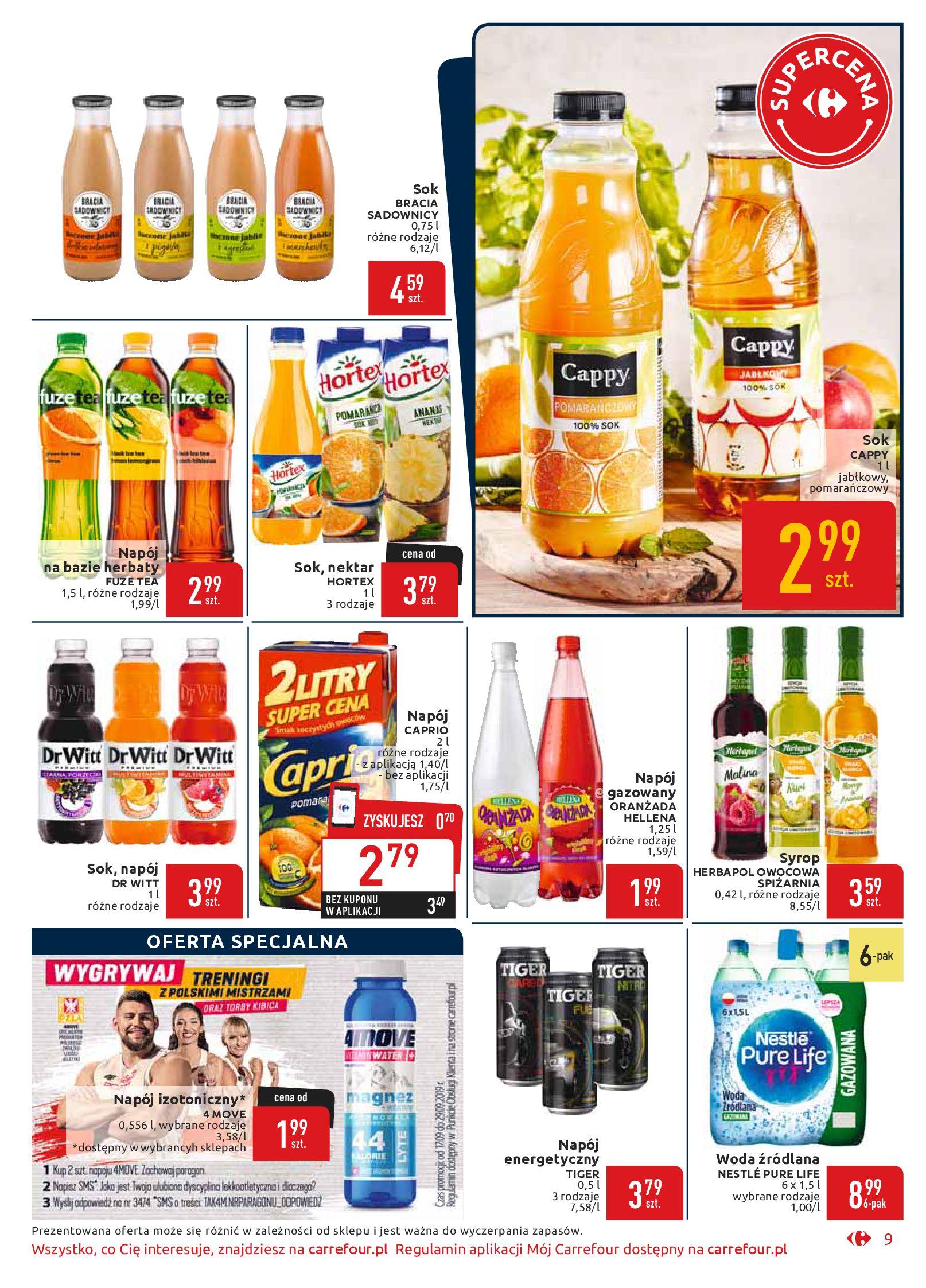 Gazetka Carrefour Market - Wszyscy zasługujemy na najlepsze-16.09.2019-29.09.2019-page-9