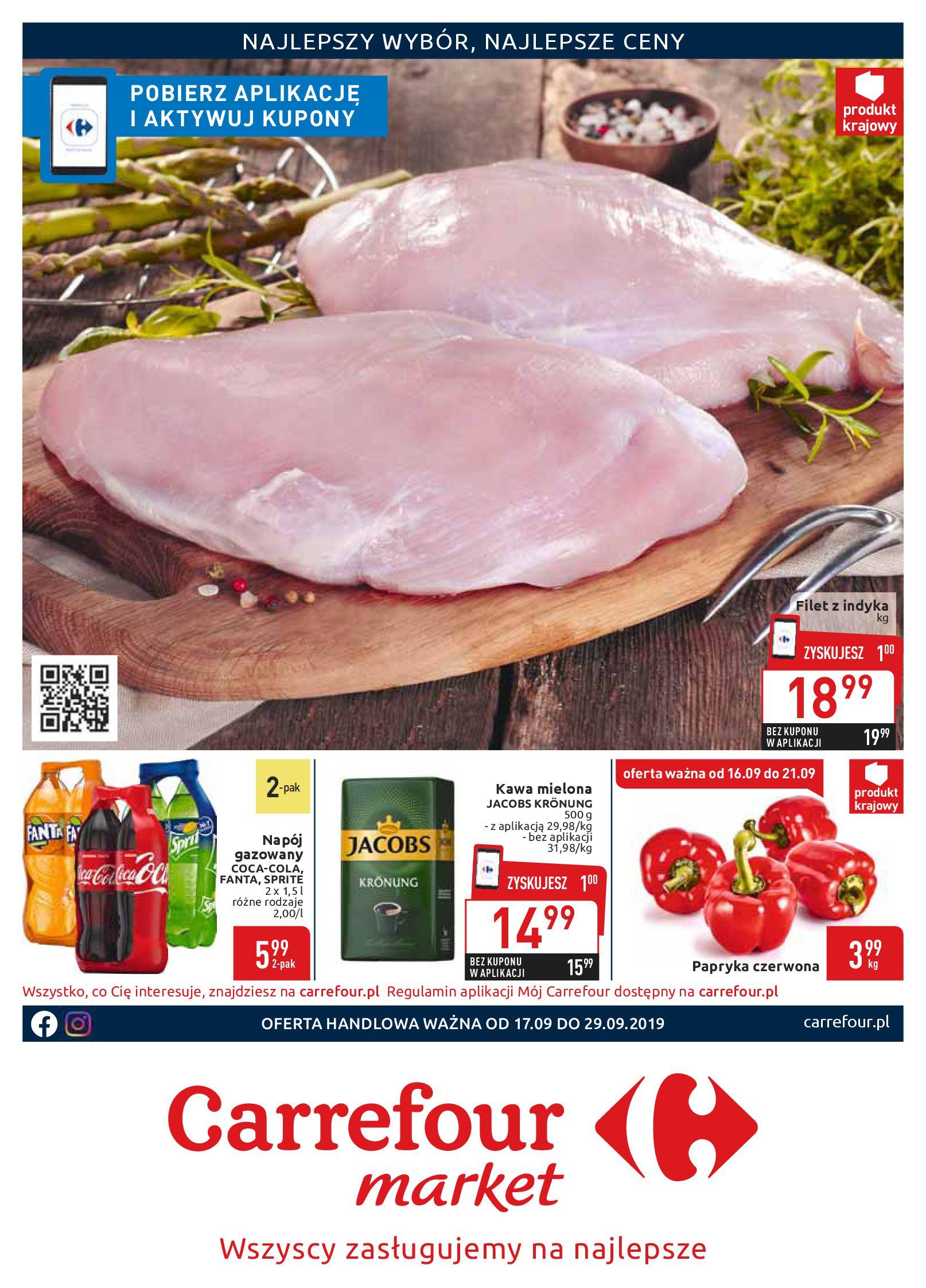 Gazetka Carrefour Market - Wszyscy zasługujemy na najlepsze-16.09.2019-29.09.2019-page-1