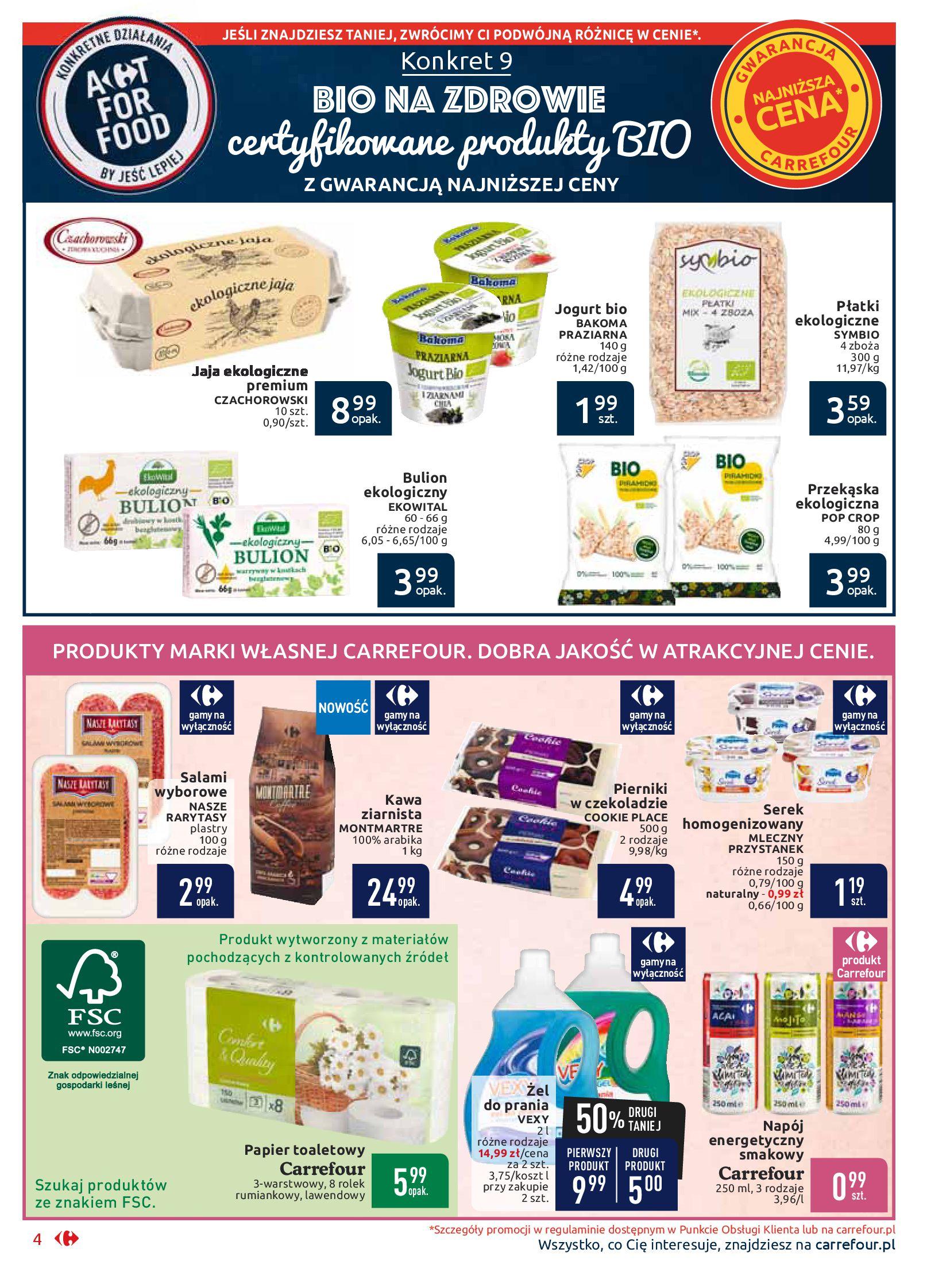 Gazetka Carrefour Market - Wszyscy zasługujemy na najlepsze-16.09.2019-29.09.2019-page-4