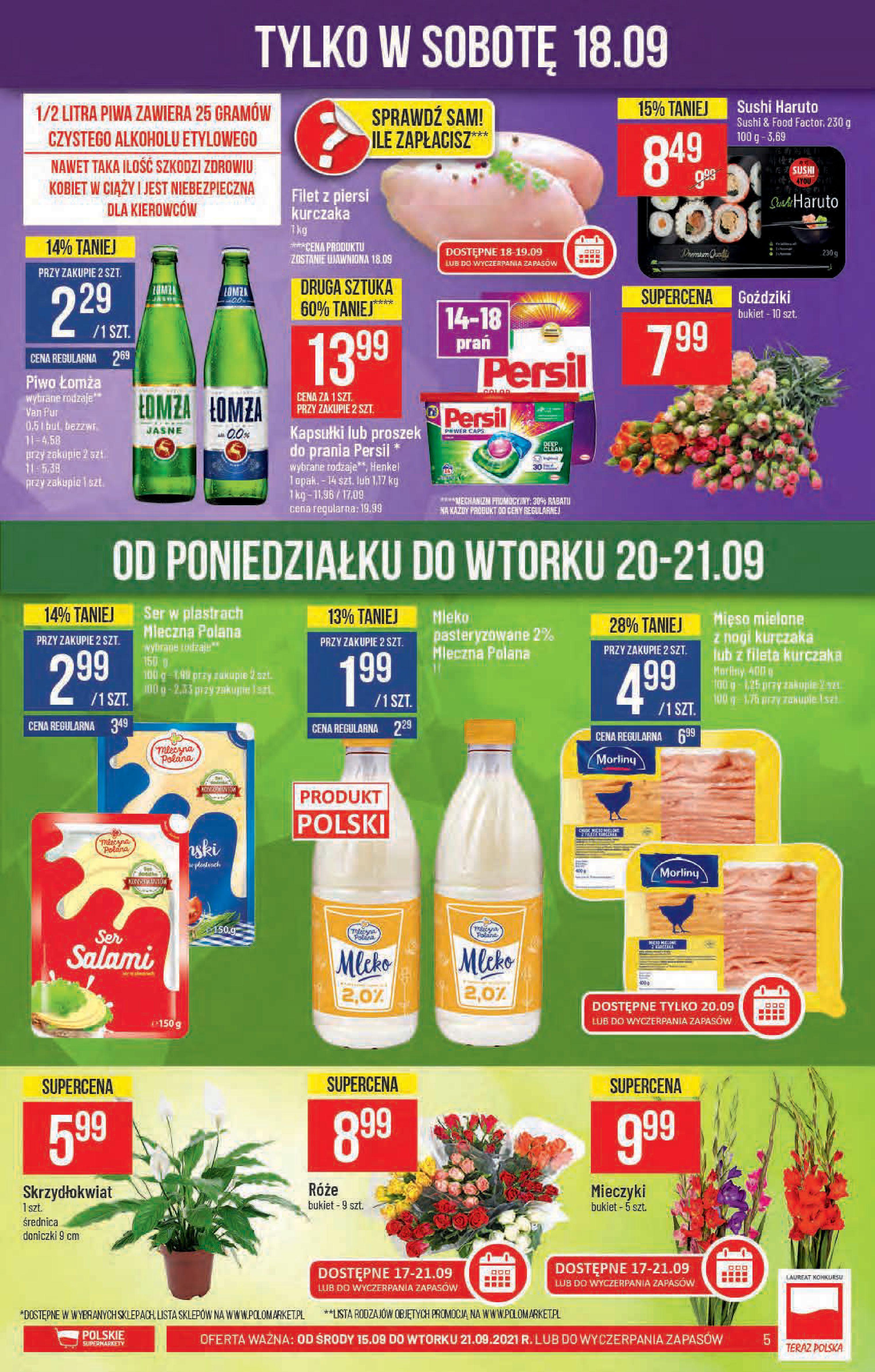 Gazetka Polomarket: Gazetka Polomarket 2021-09-15 page-5