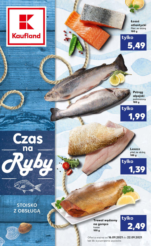 Gazetka Kaufland: Gazetka Kaufland - Ryby 2021-09-16 page-1