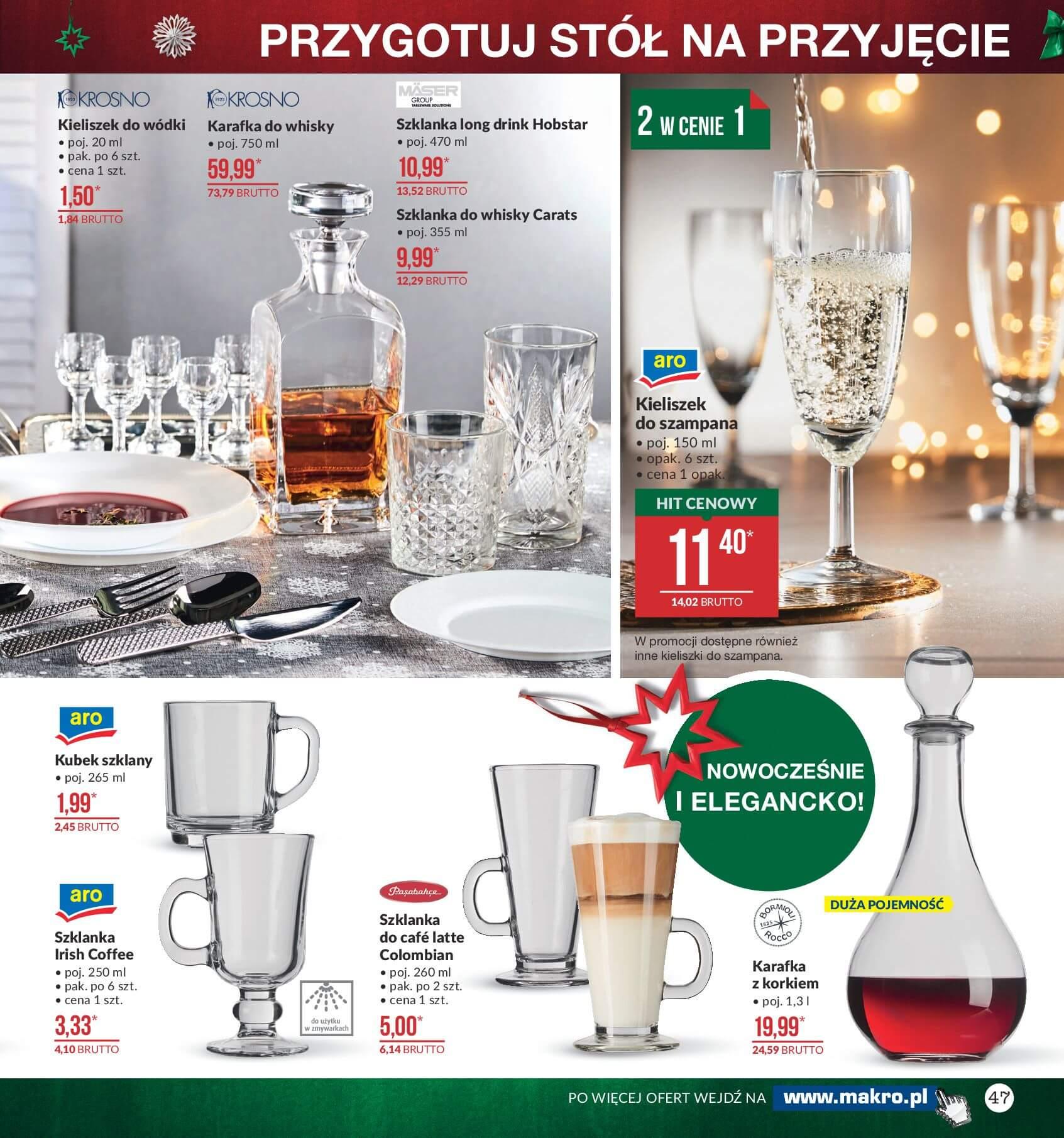 Gazetka Makro - Przygotuj się do świąt-04.12.2017-24.12.2017-page-47