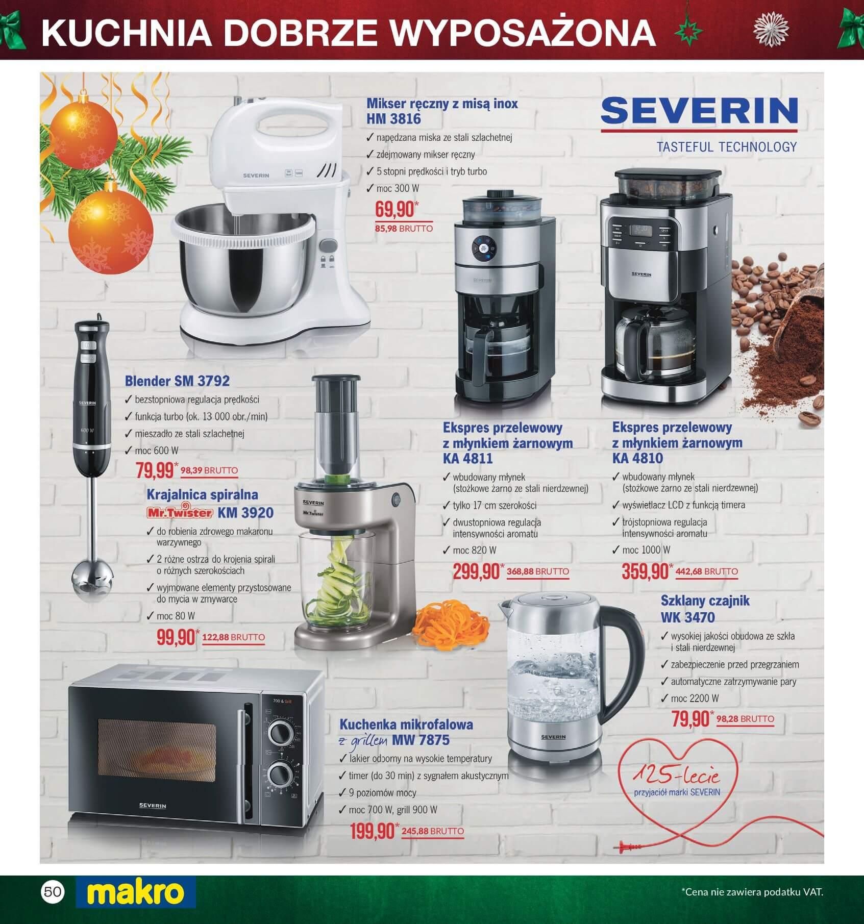 Gazetka Makro - Przygotuj się do świąt-04.12.2017-24.12.2017-page-50