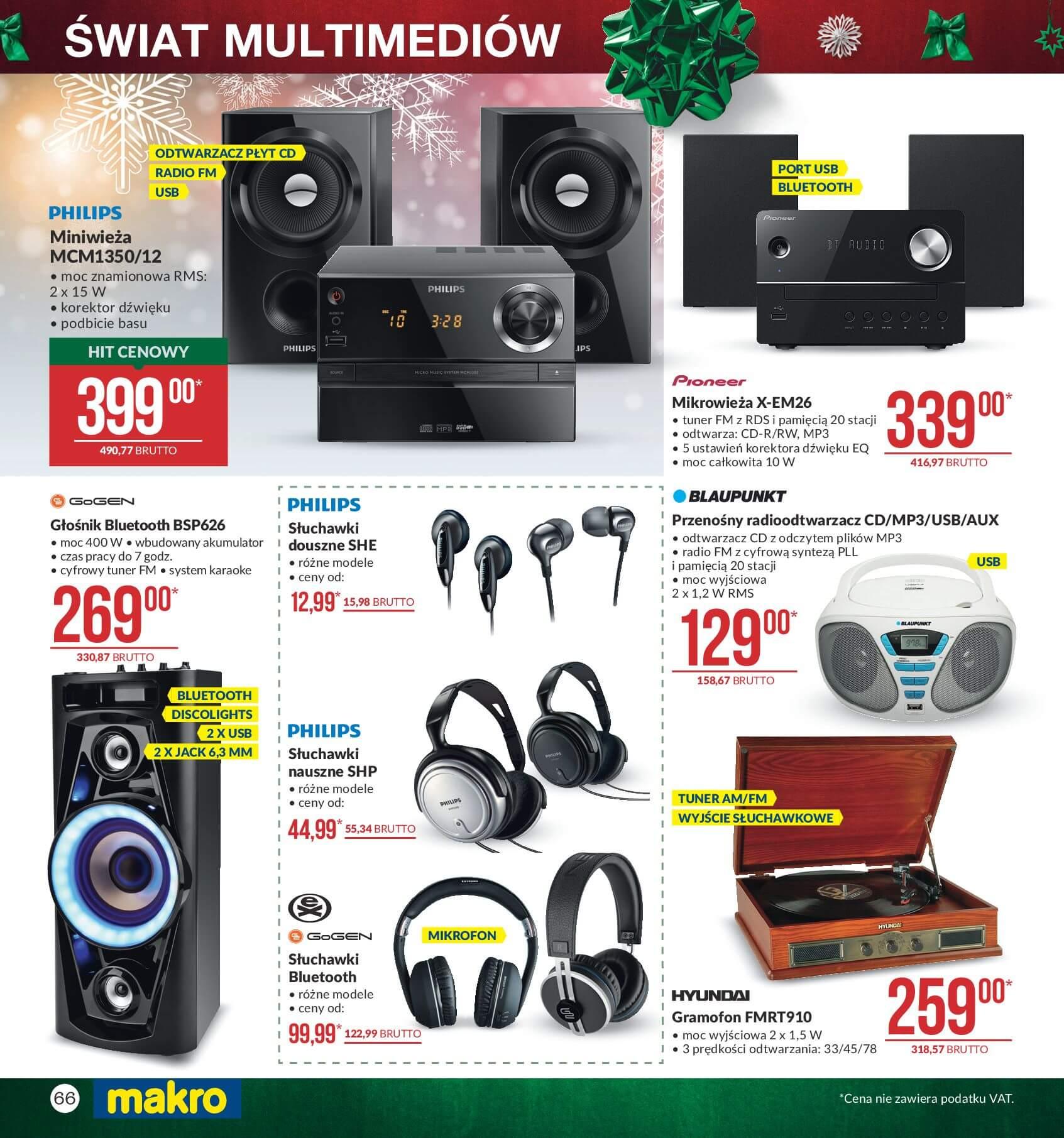 Gazetka Makro - Przygotuj się do świąt-04.12.2017-24.12.2017-page-66