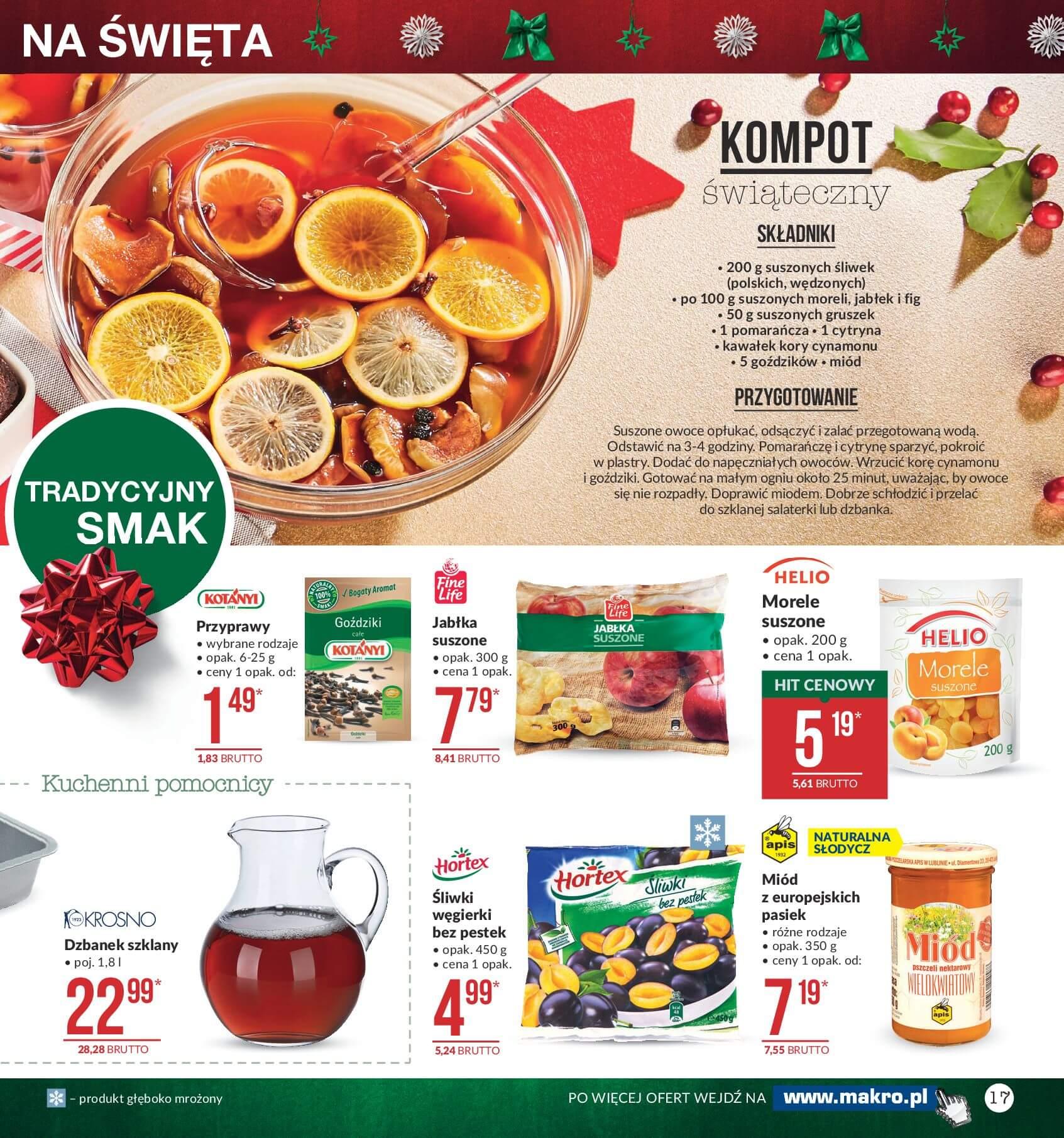 Gazetka Makro - Przygotuj się do świąt-04.12.2017-24.12.2017-page-17