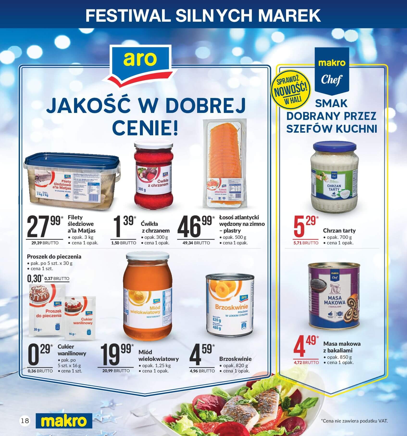 Gazetka Makro - Przygotuj się do świąt-04.12.2017-24.12.2017-page-18