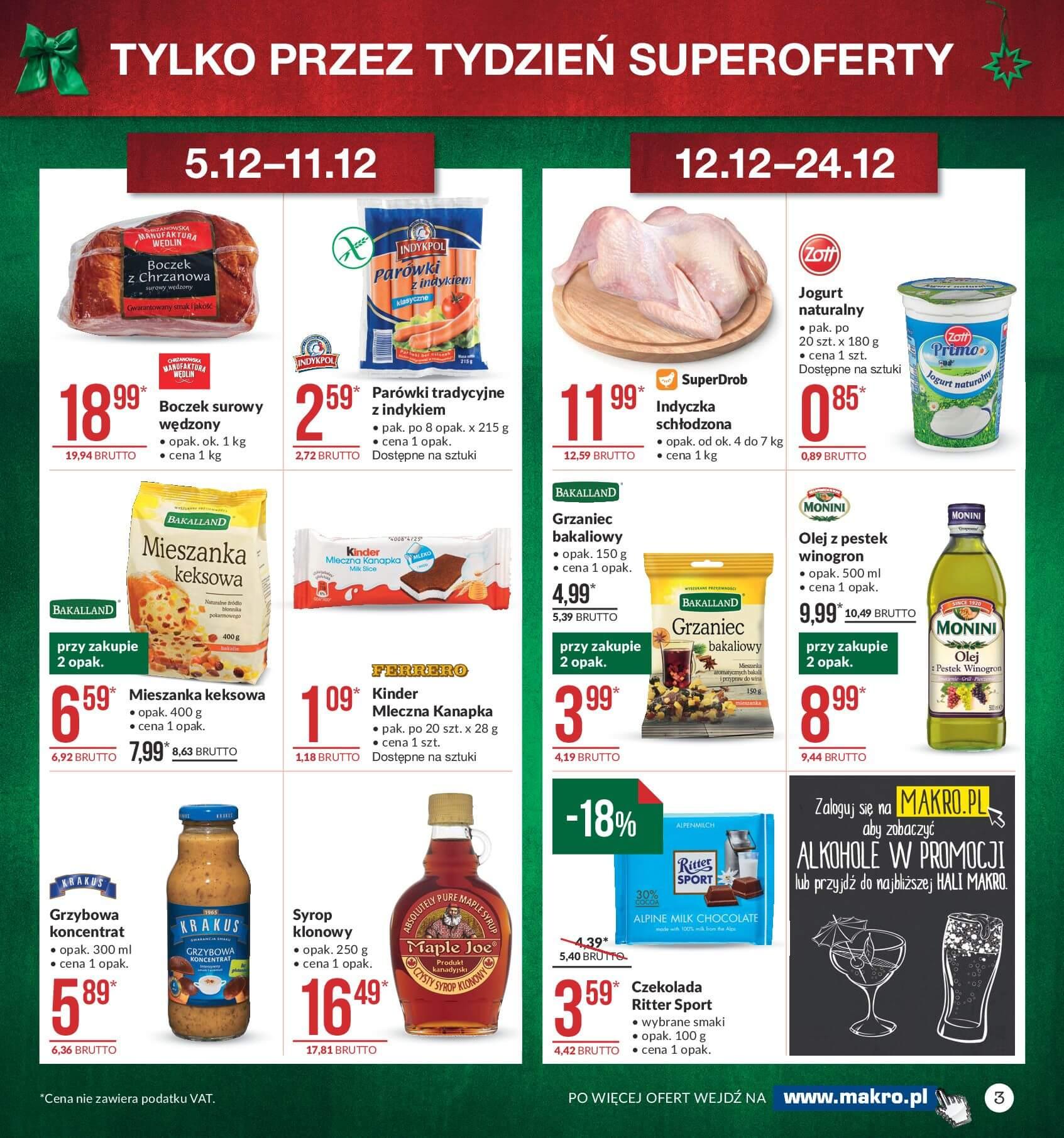 Gazetka Makro - Przygotuj się do świąt-04.12.2017-24.12.2017-page-3