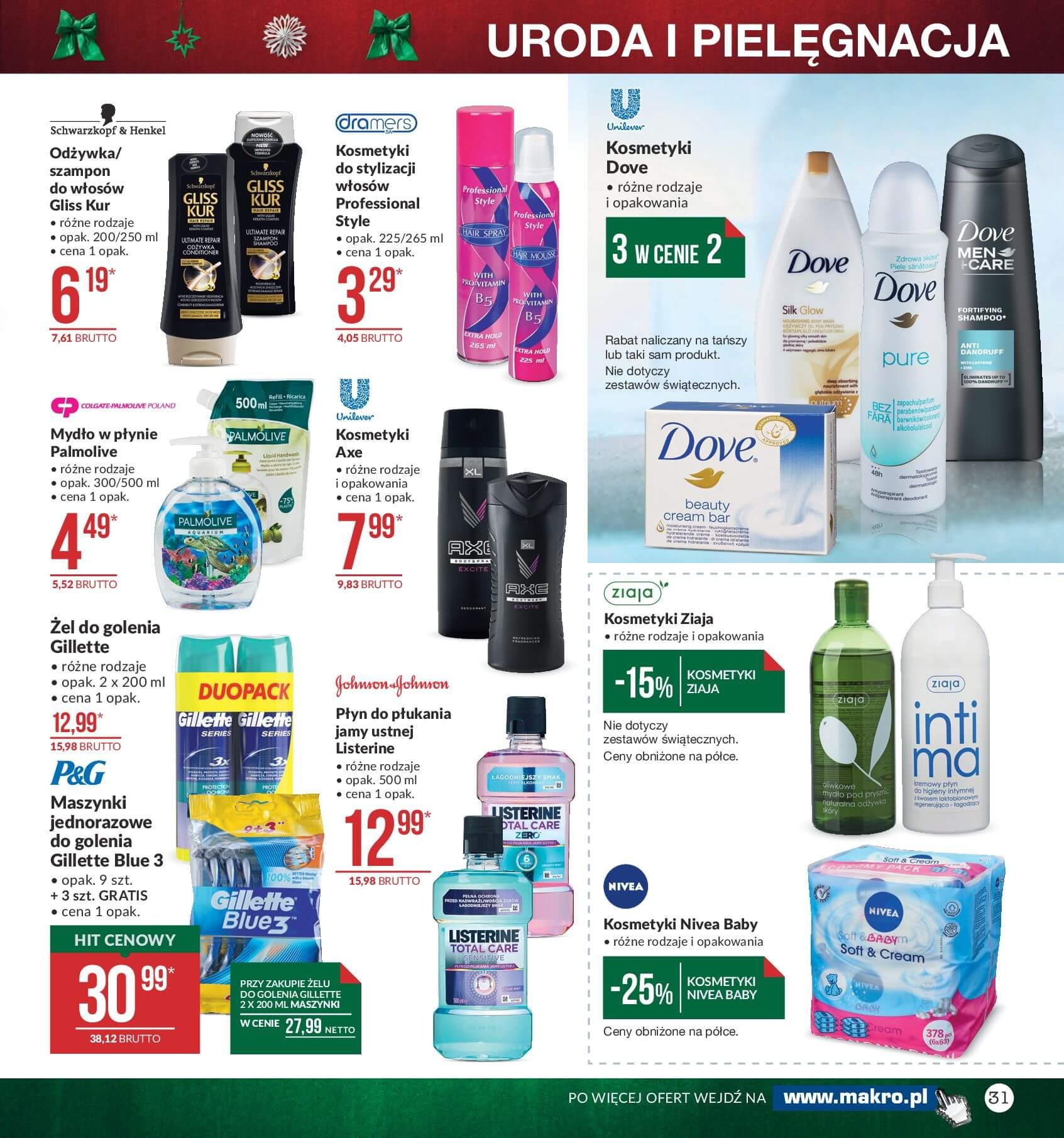 Gazetka Makro - Przygotuj się do świąt-04.12.2017-24.12.2017-page-31