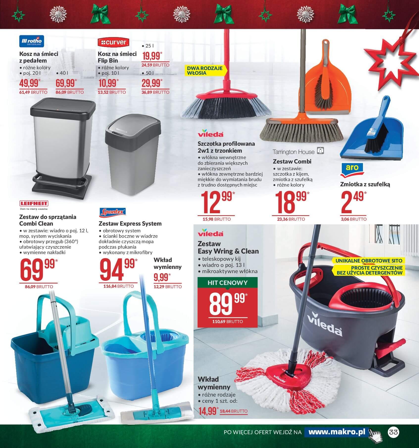 Gazetka Makro - Przygotuj się do świąt-04.12.2017-24.12.2017-page-33