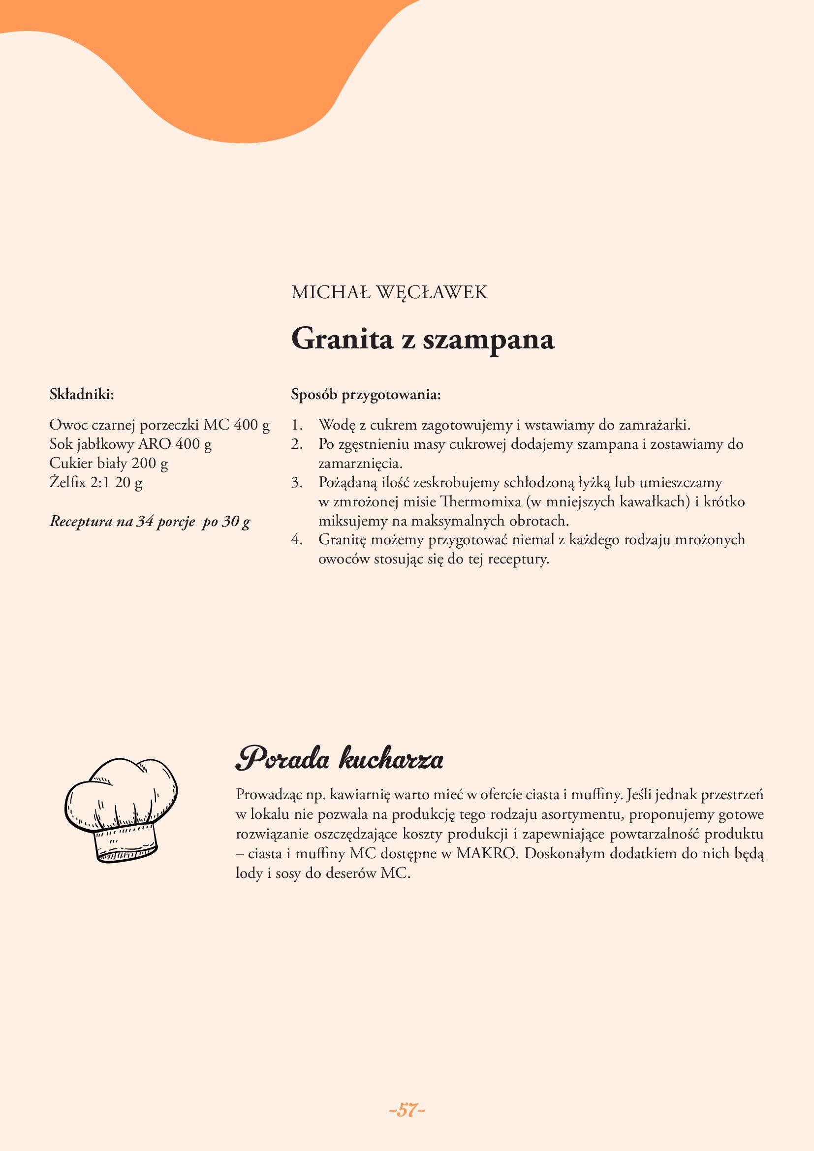 Gazetka Makro: Gazetka Makro - lody i desery 2021-05-21 page-57
