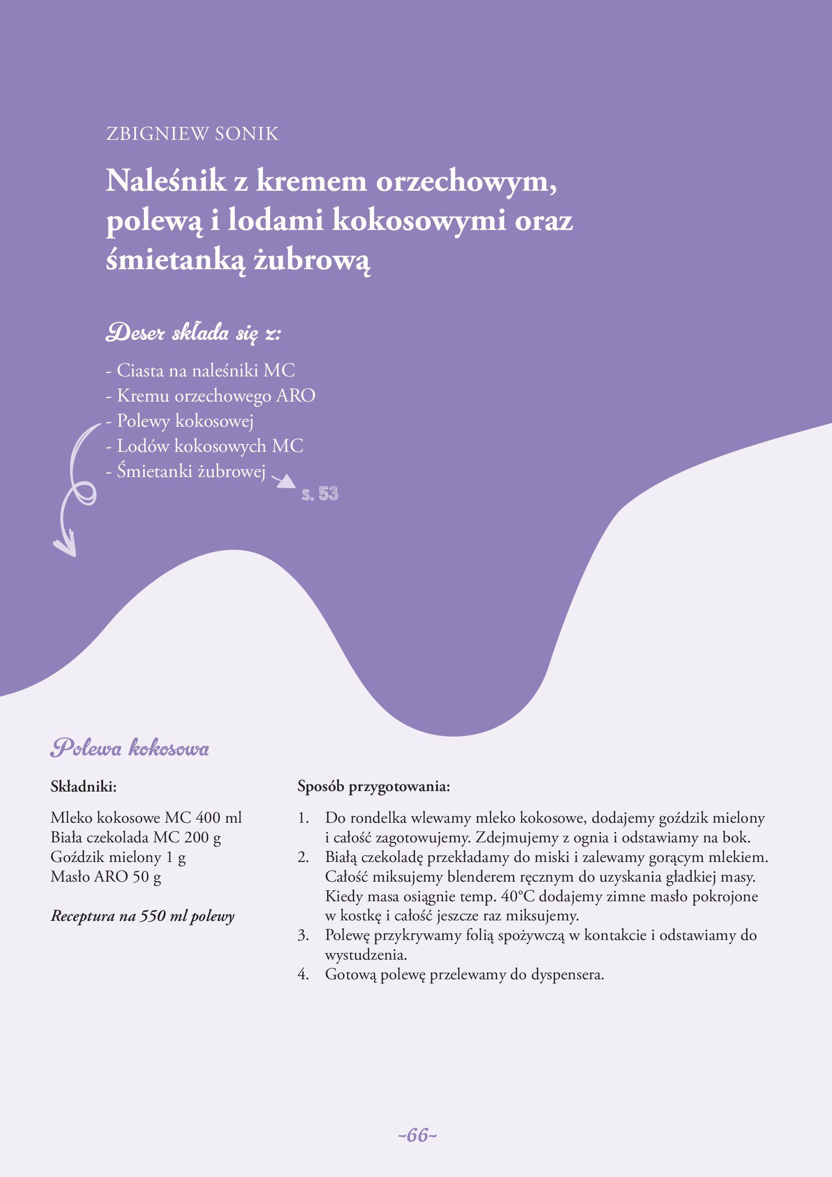 Gazetka Makro: Gazetka Makro - lody i desery 2021-05-21 page-66
