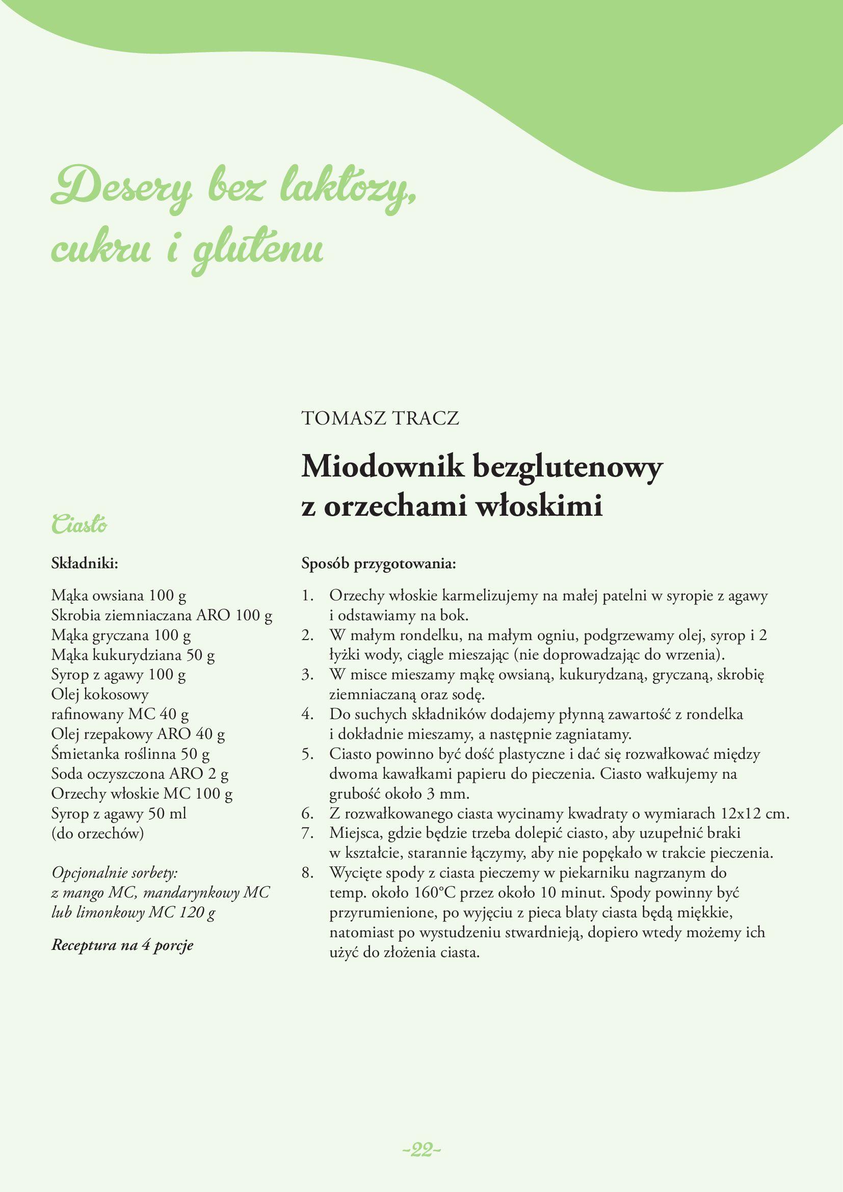 Gazetka Makro: Gazetka Makro - lody i desery 2021-05-21 page-22