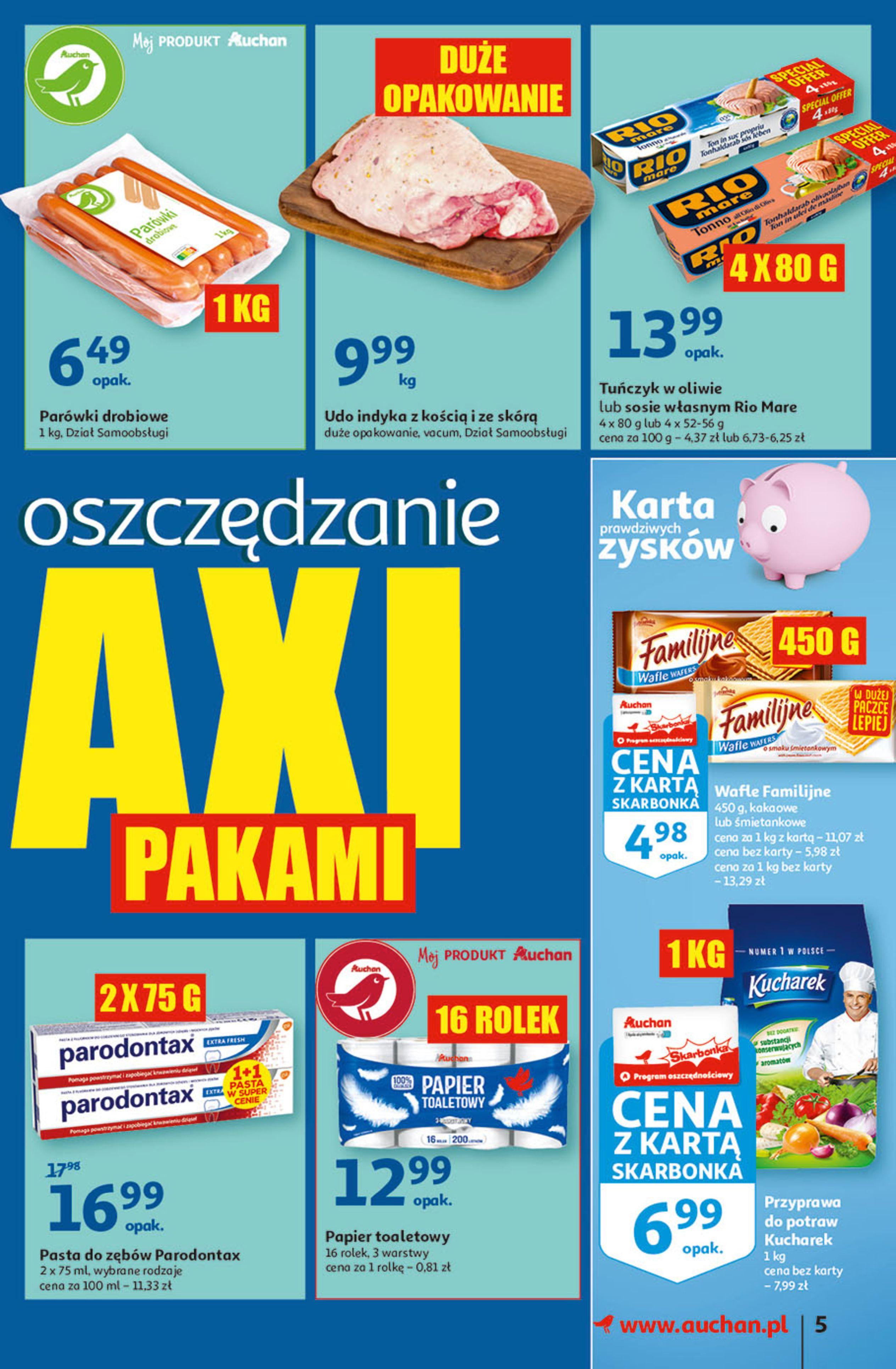Gazetka Auchan: Gazetka Auchan - Hiperoszczędzanie w wersji Maxi Paki Hipermarkety 2021-09-16 page-5