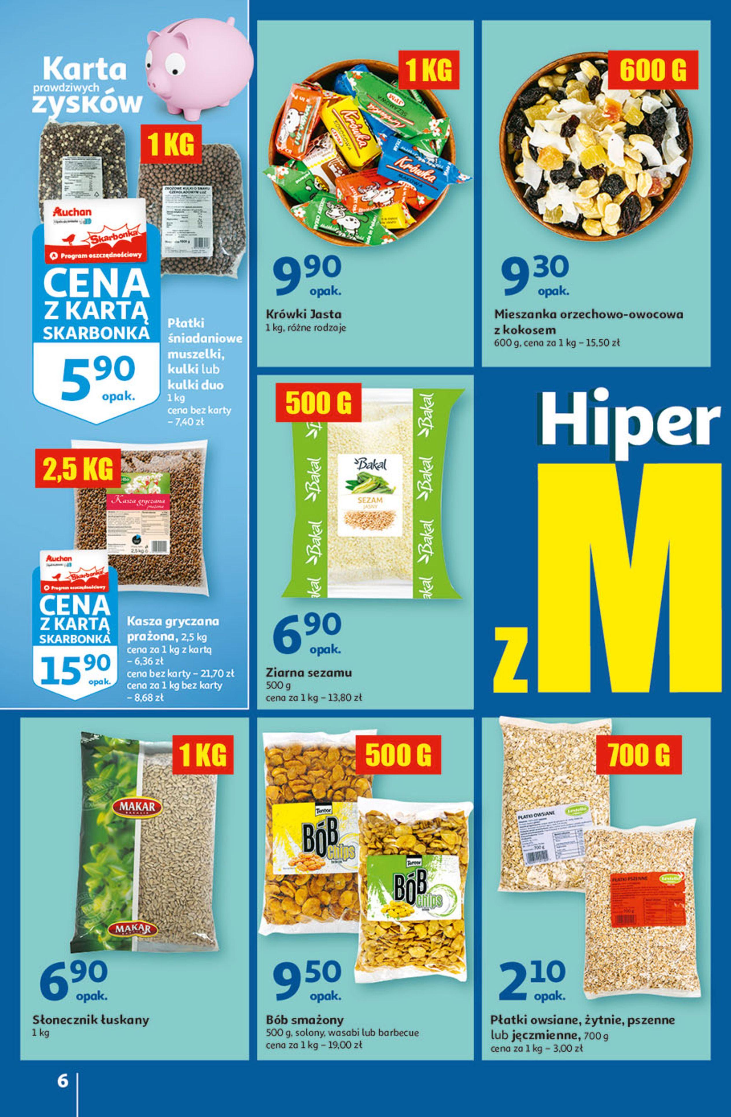 Gazetka Auchan: Gazetka Auchan - Hiperoszczędzanie w wersji Maxi Paki Hipermarkety 2021-09-16 page-6