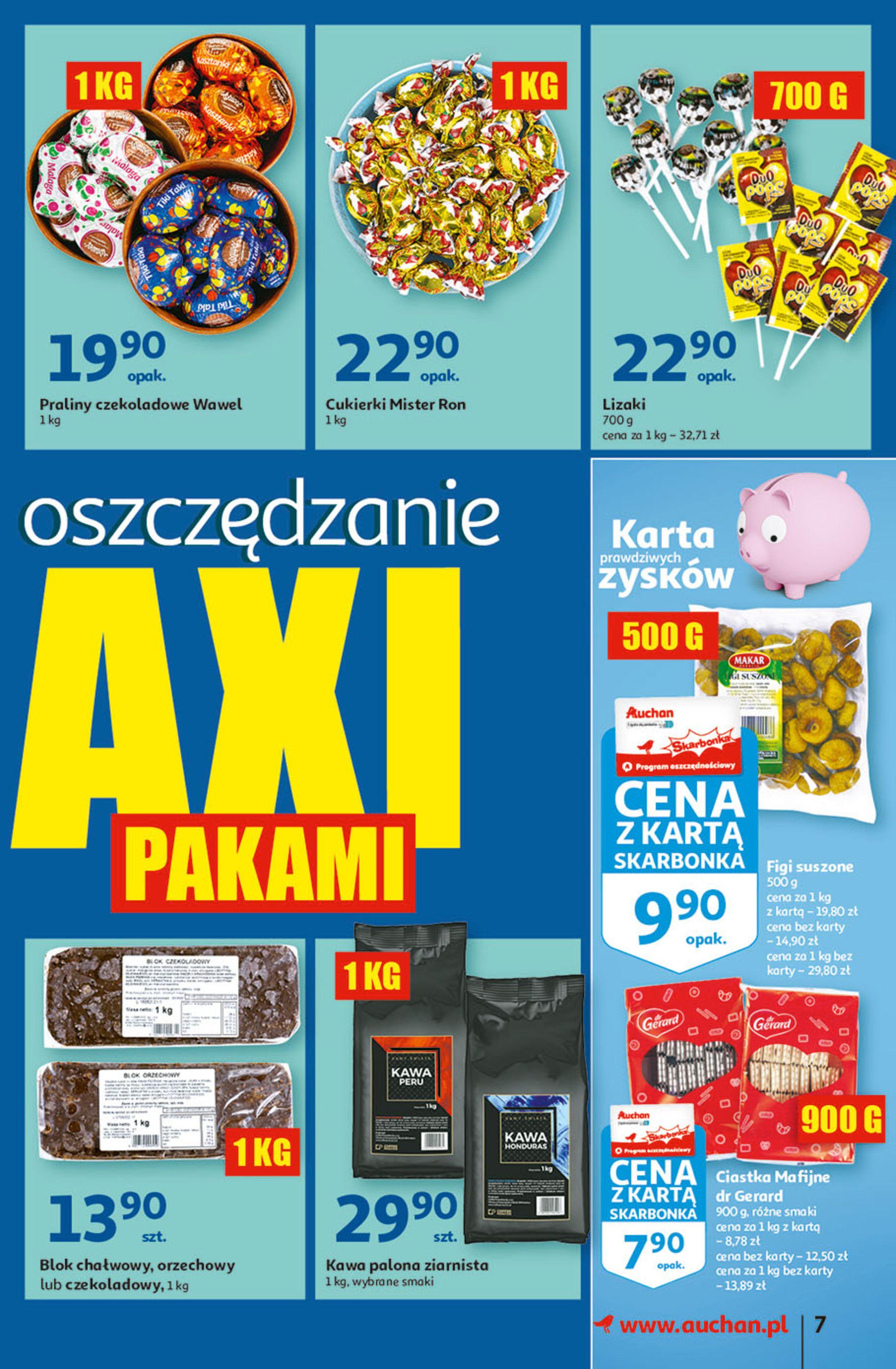 Gazetka Auchan: Gazetka Auchan - Hiperoszczędzanie w wersji Maxi Paki Hipermarkety 2021-09-16 page-7