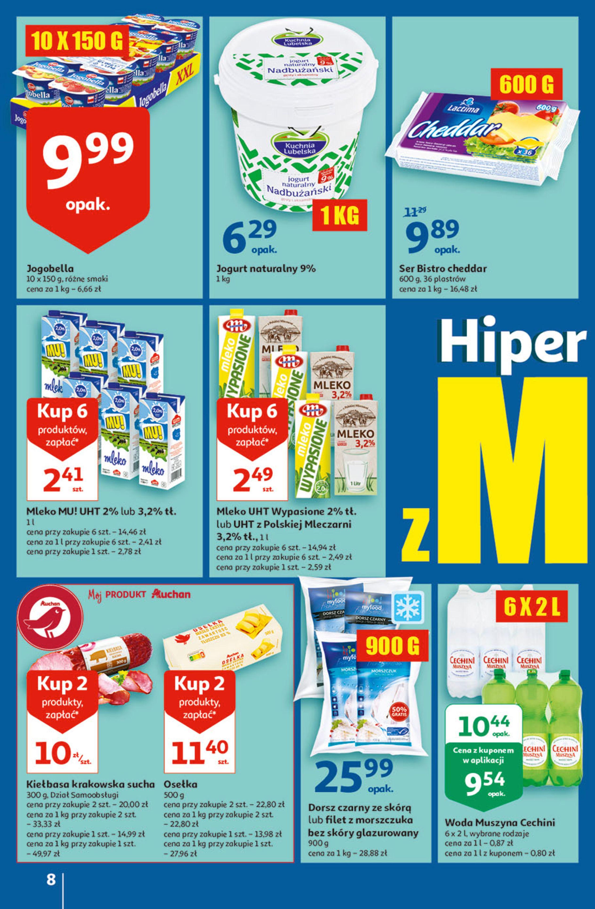 Gazetka Auchan: Gazetka Auchan - Hiperoszczędzanie w wersji Maxi Paki Hipermarkety 2021-09-16 page-8