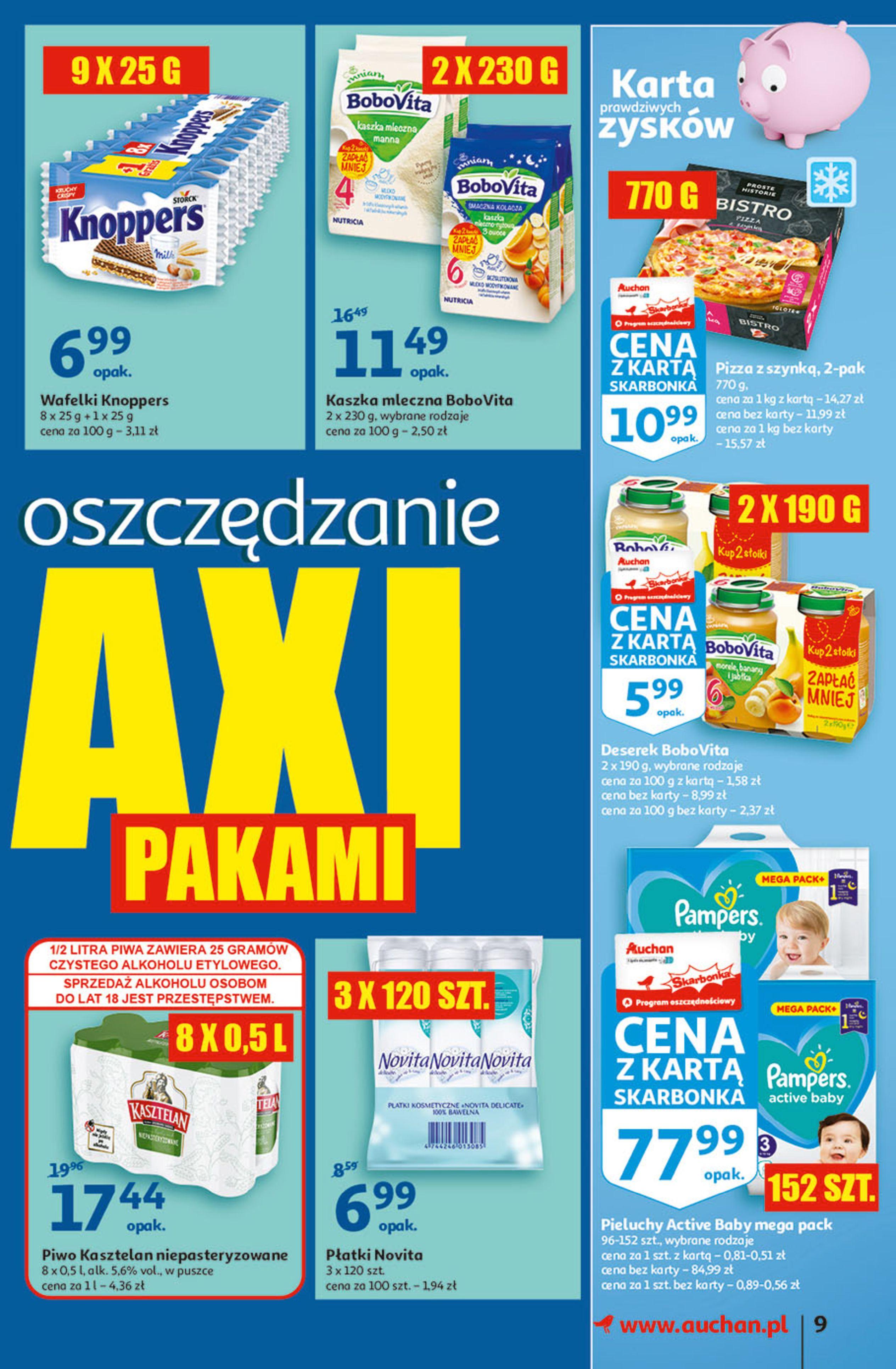 Gazetka Auchan: Gazetka Auchan - Hiperoszczędzanie w wersji Maxi Paki Hipermarkety 2021-09-16 page-9