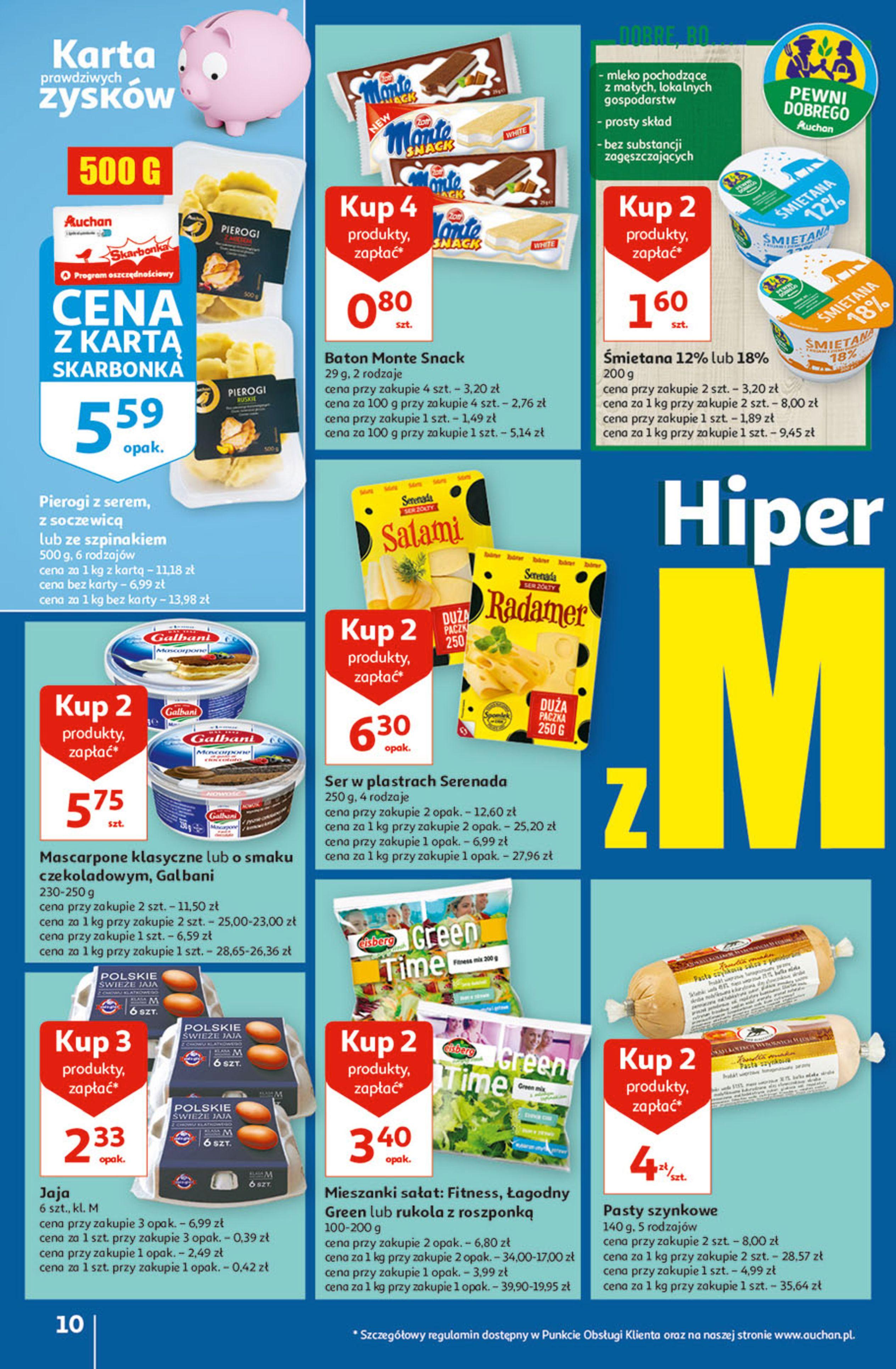 Gazetka Auchan: Gazetka Auchan - Hiperoszczędzanie w wersji Maxi Paki Hipermarkety 2021-09-16 page-10