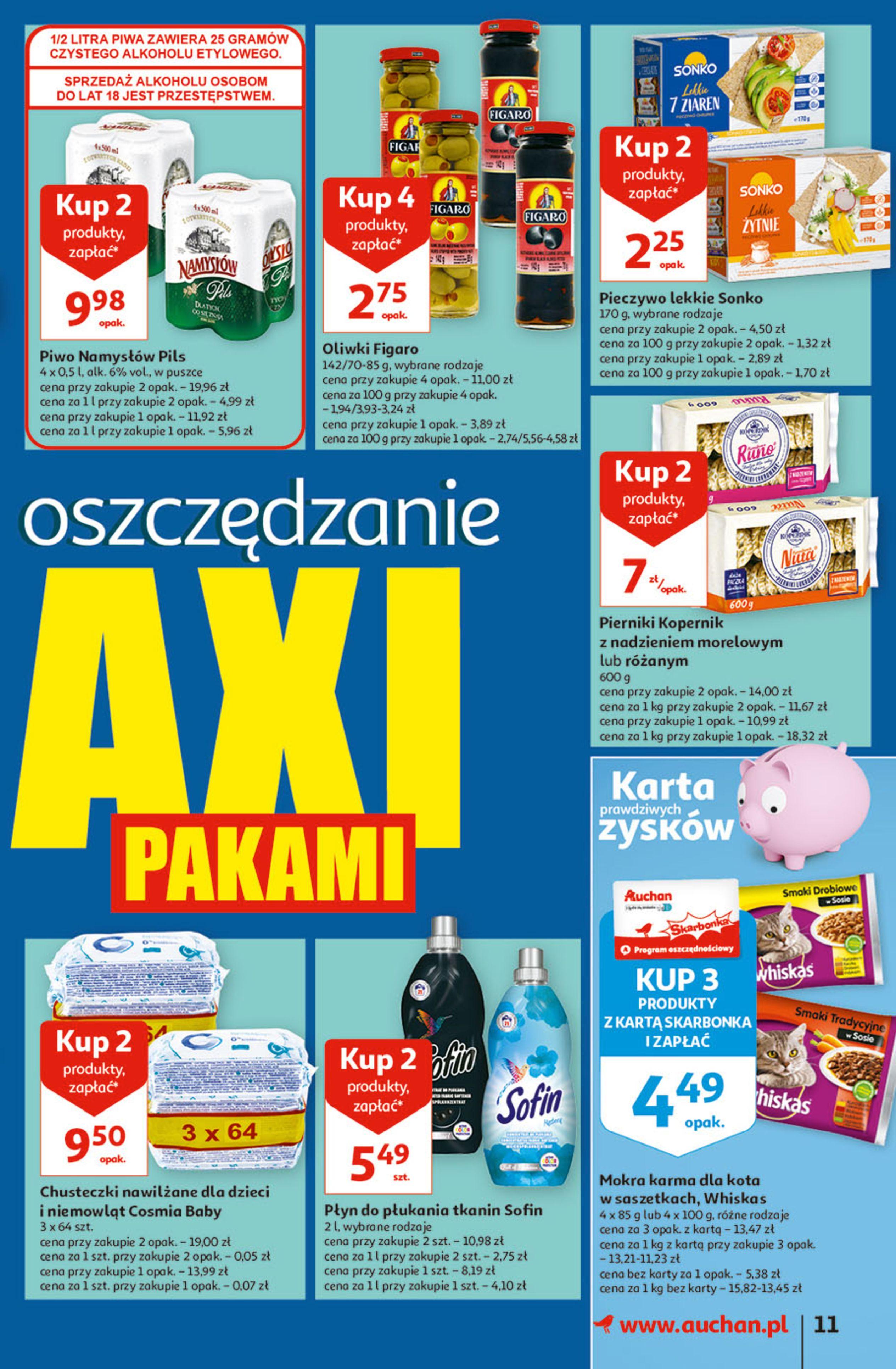 Gazetka Auchan: Gazetka Auchan - Hiperoszczędzanie w wersji Maxi Paki Hipermarkety 2021-09-16 page-11