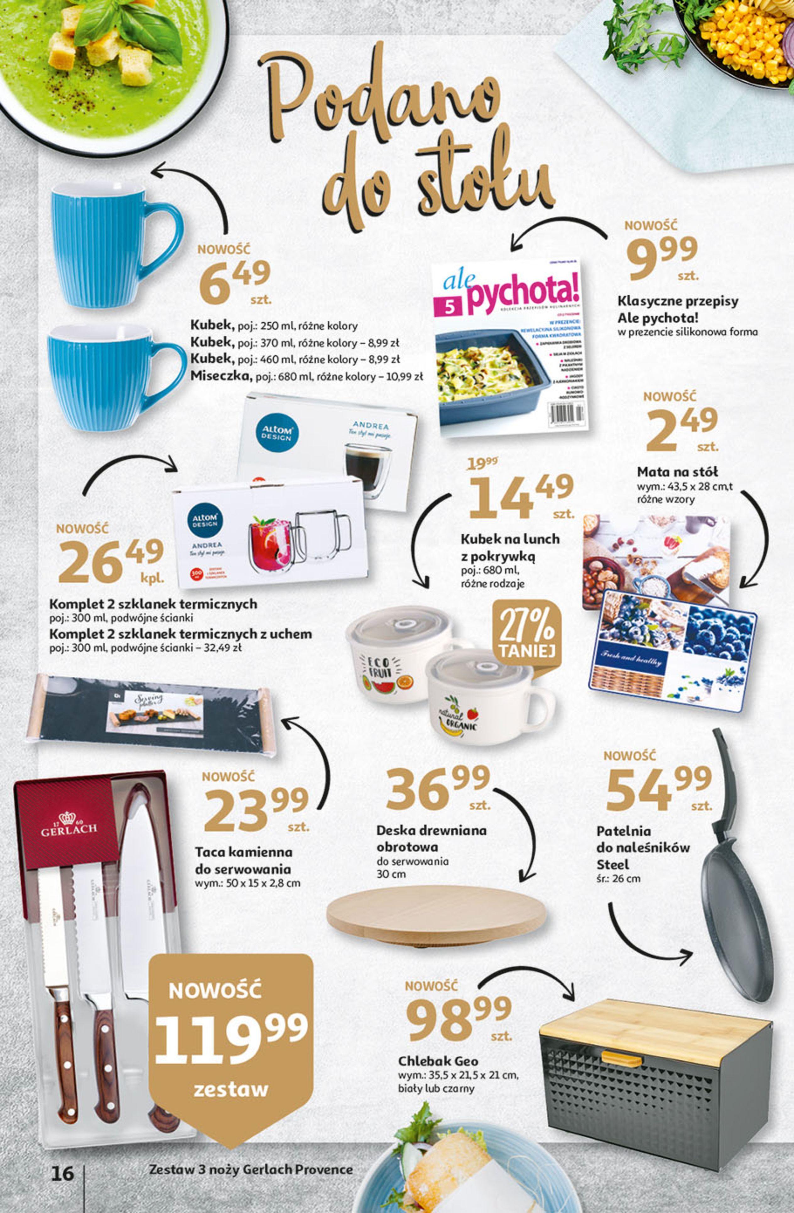 Gazetka Auchan: Gazetka Auchan - Hiperoszczędzanie w wersji Maxi Paki Hipermarkety 2021-09-16 page-16