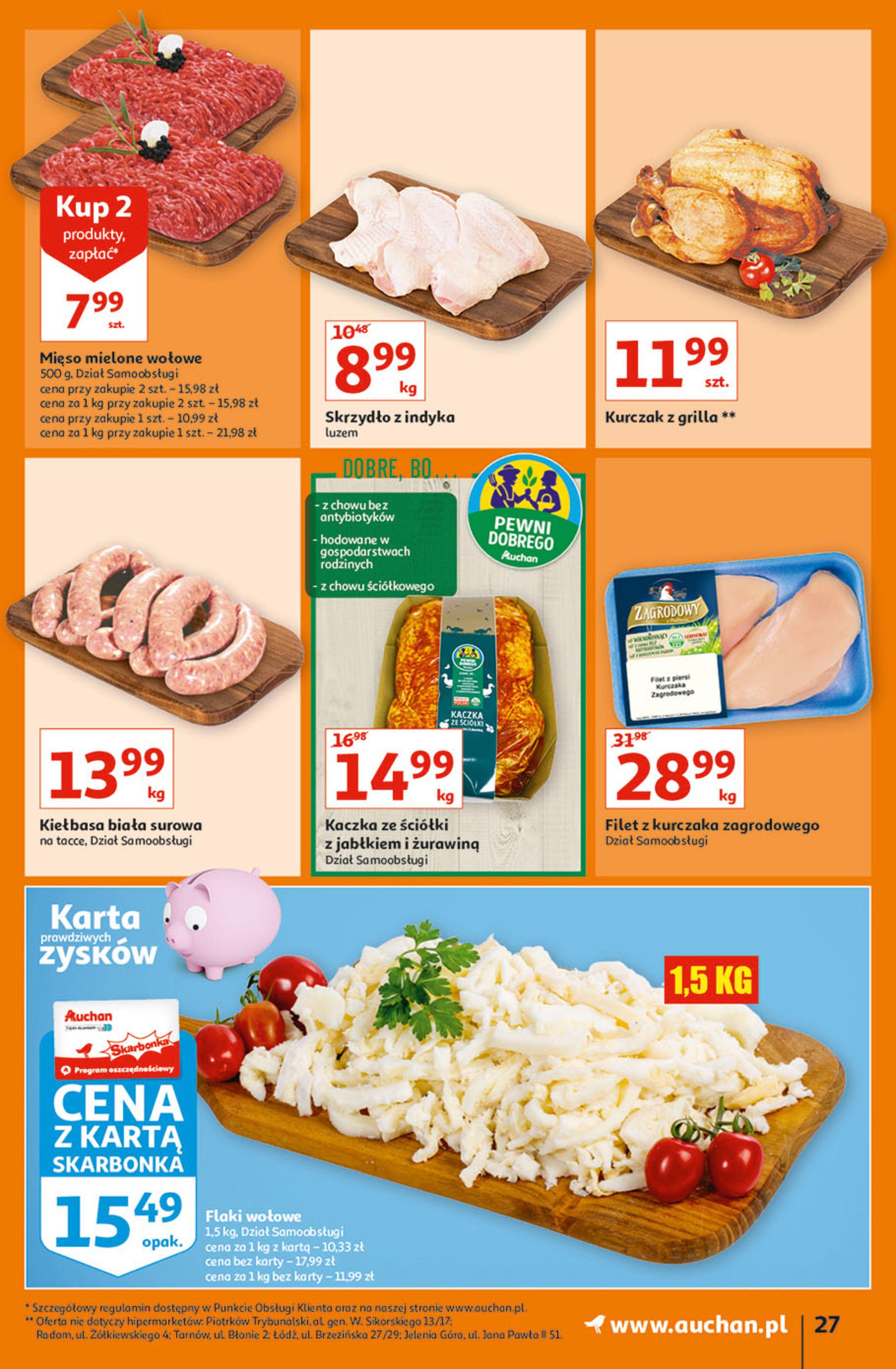 Gazetka Auchan: Gazetka Auchan - Hiperoszczędzanie w wersji Maxi Paki Hipermarkety 2021-09-16 page-27