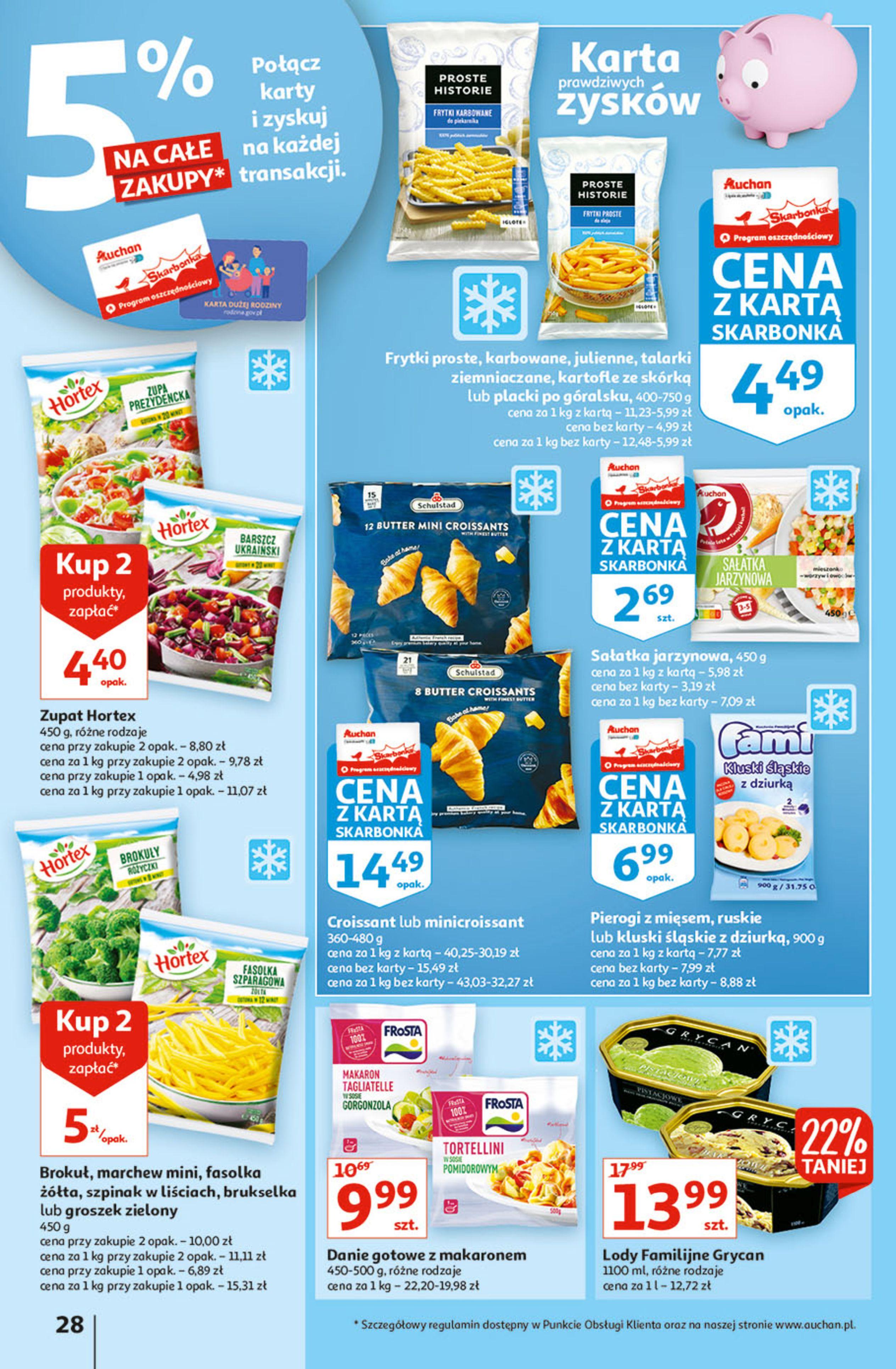 Gazetka Auchan: Gazetka Auchan - Hiperoszczędzanie w wersji Maxi Paki Hipermarkety 2021-09-16 page-28