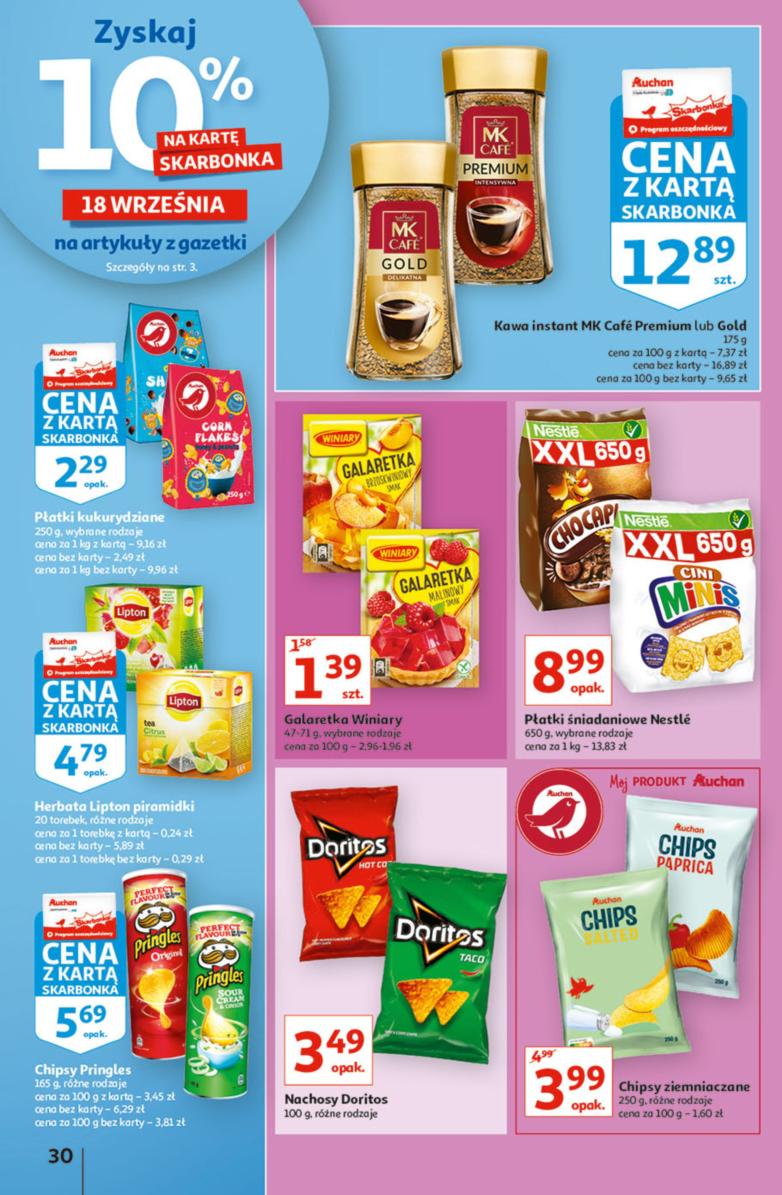 Gazetka Auchan: Gazetka Auchan - Hiperoszczędzanie w wersji Maxi Paki Hipermarkety 2021-09-16 page-30